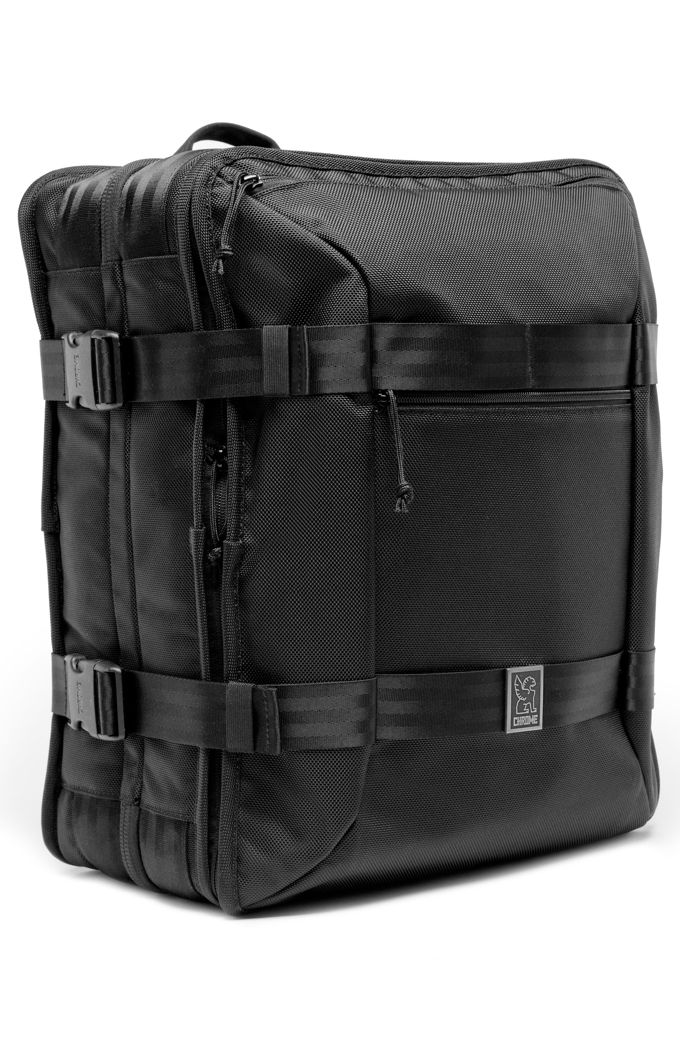 Macheto Travel Backpack,                             Alternate thumbnail 5, color,                             ALL BLACK