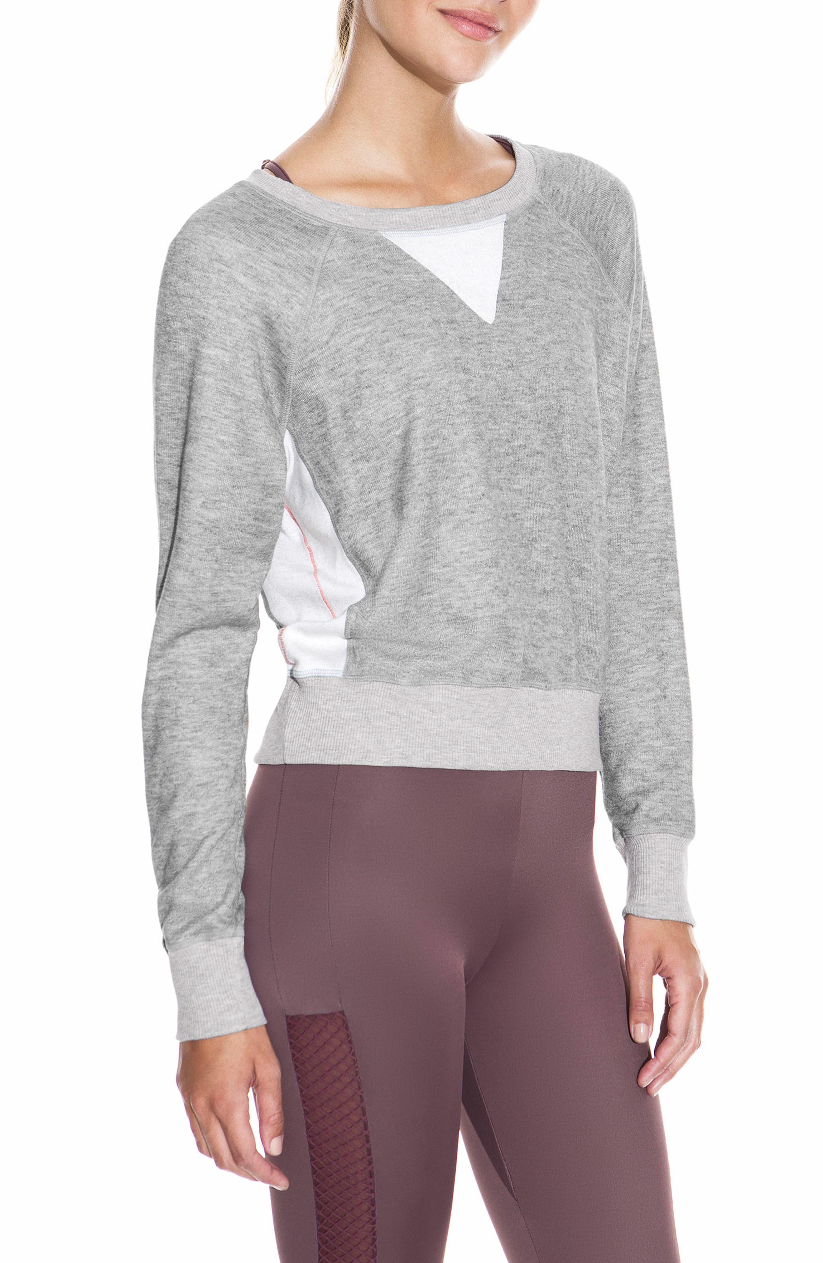 Glimmer Granite Sweatshirt,                         Main,                         color, 030