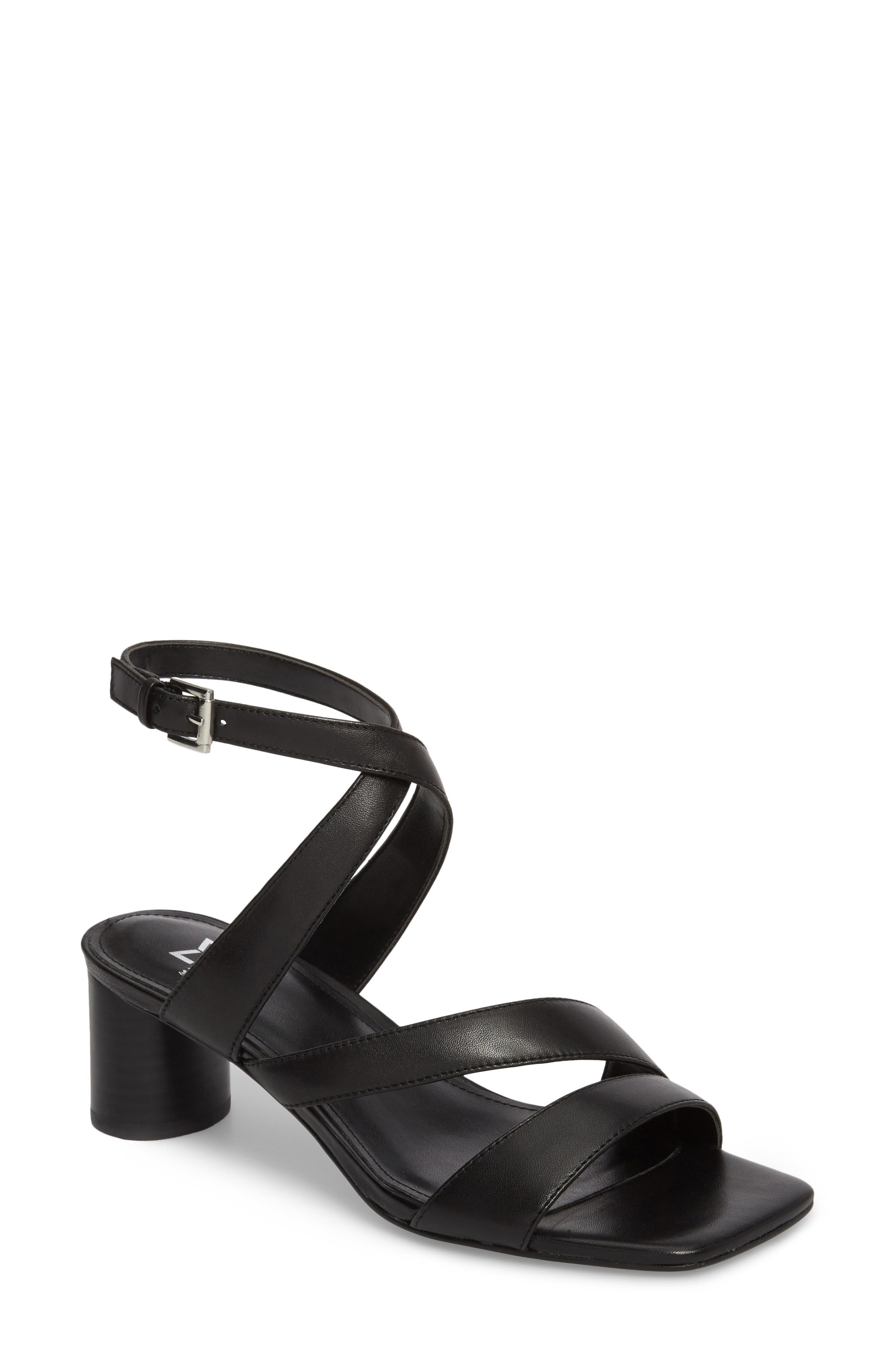 Marc Fischer LTD Idana Strappy Sandal,                             Main thumbnail 1, color,                             001