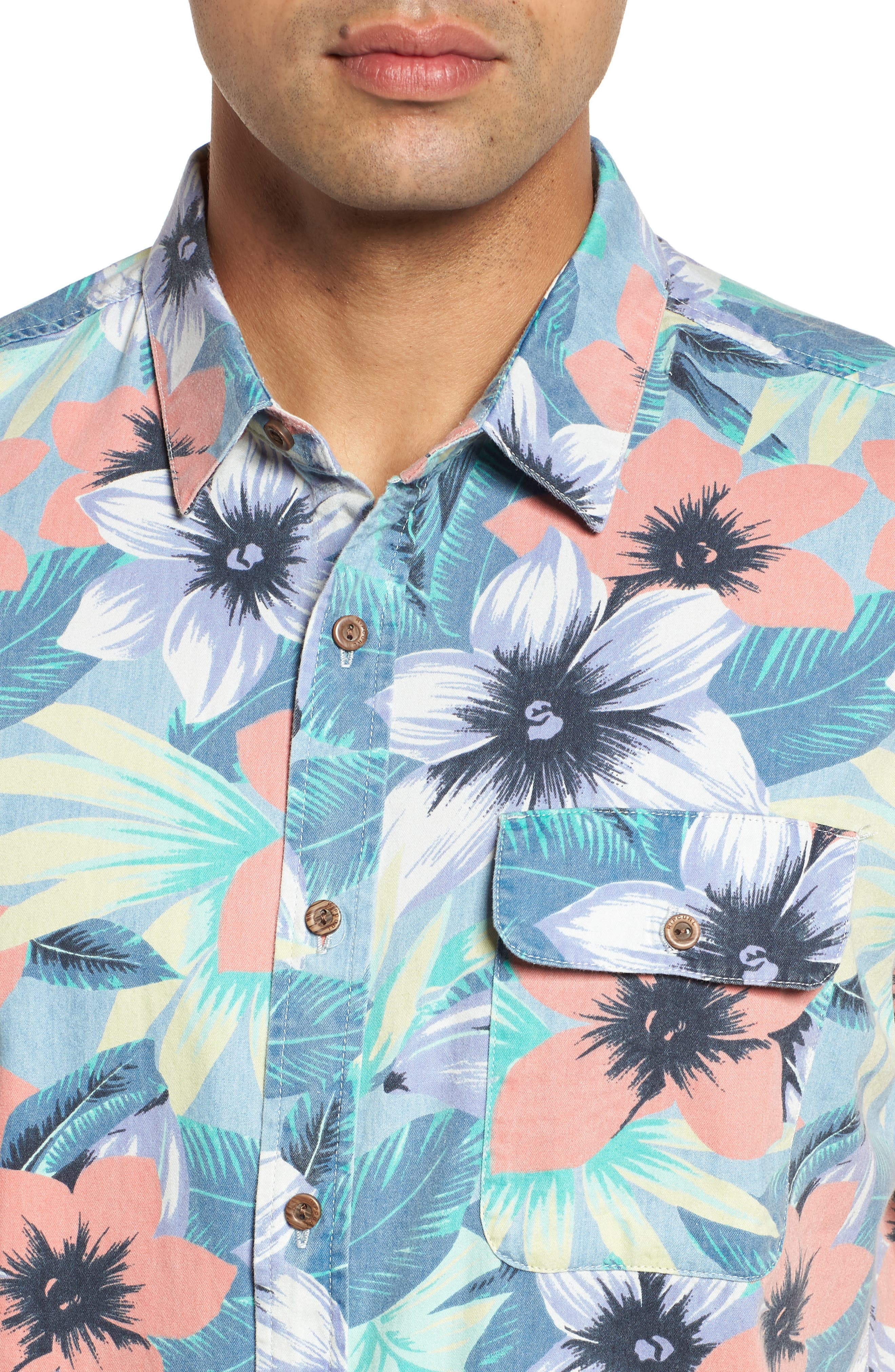 Meledrone Woven Shirt,                             Alternate thumbnail 8, color,