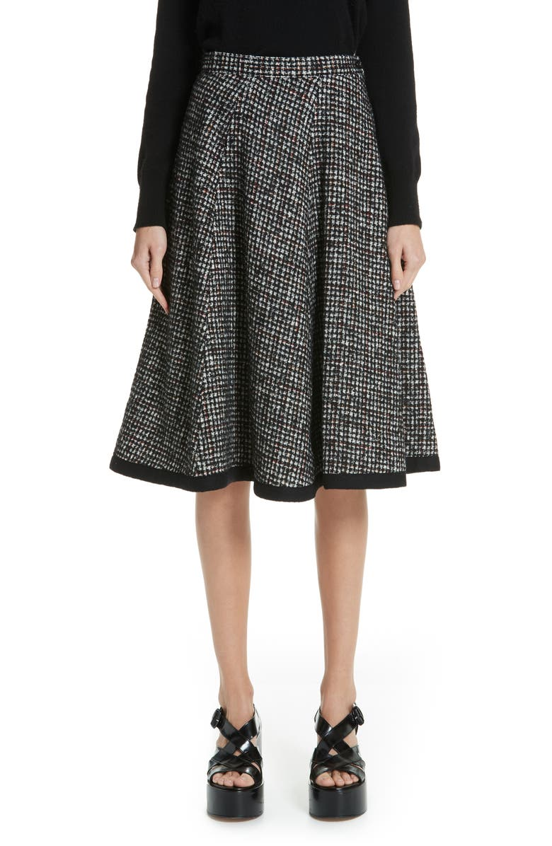 Tricot Comme Des Garcons TWEED A-LINE SKIRT