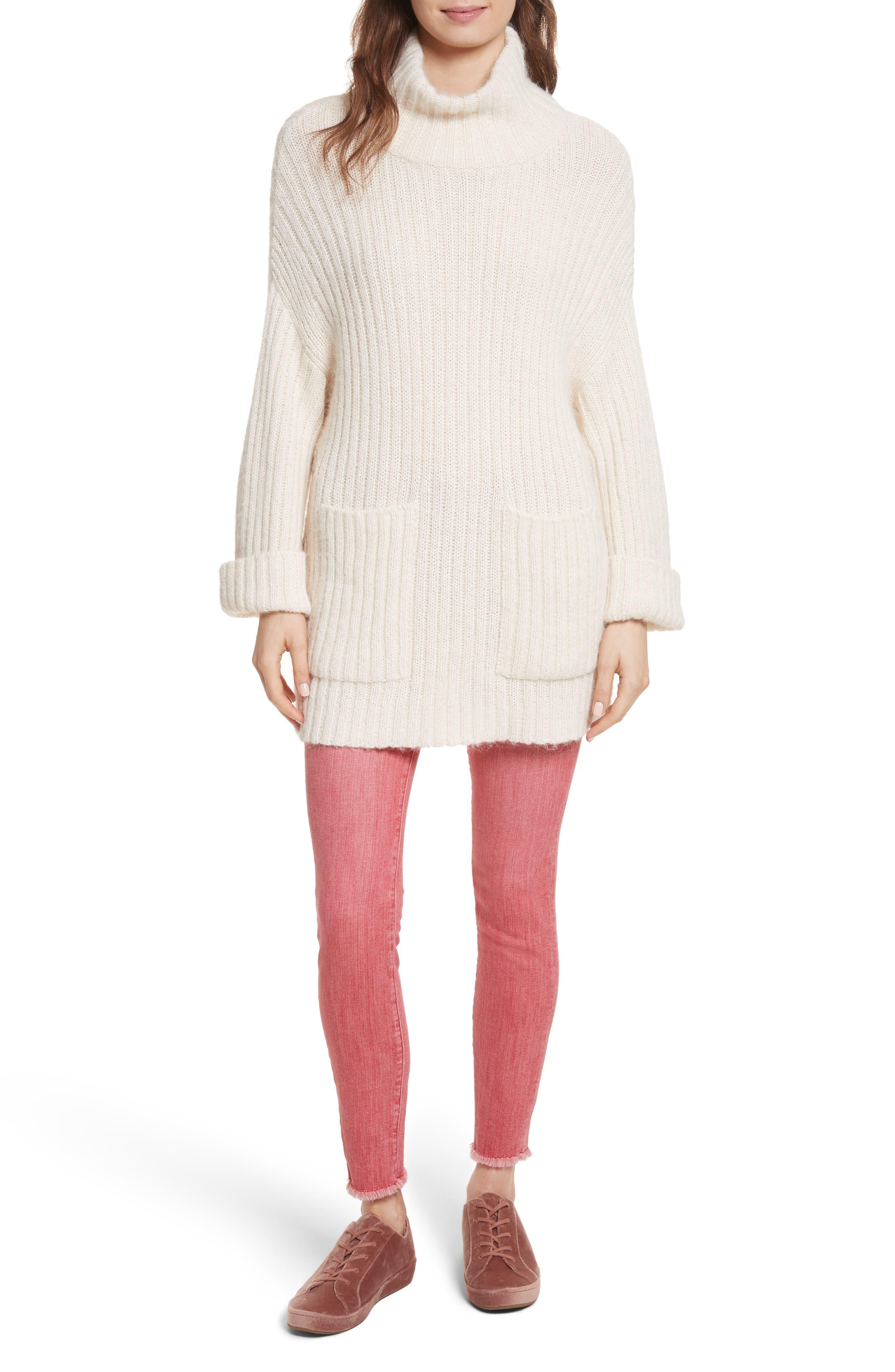 Banain Turtleneck Sweater,                             Alternate thumbnail 7, color,                             114