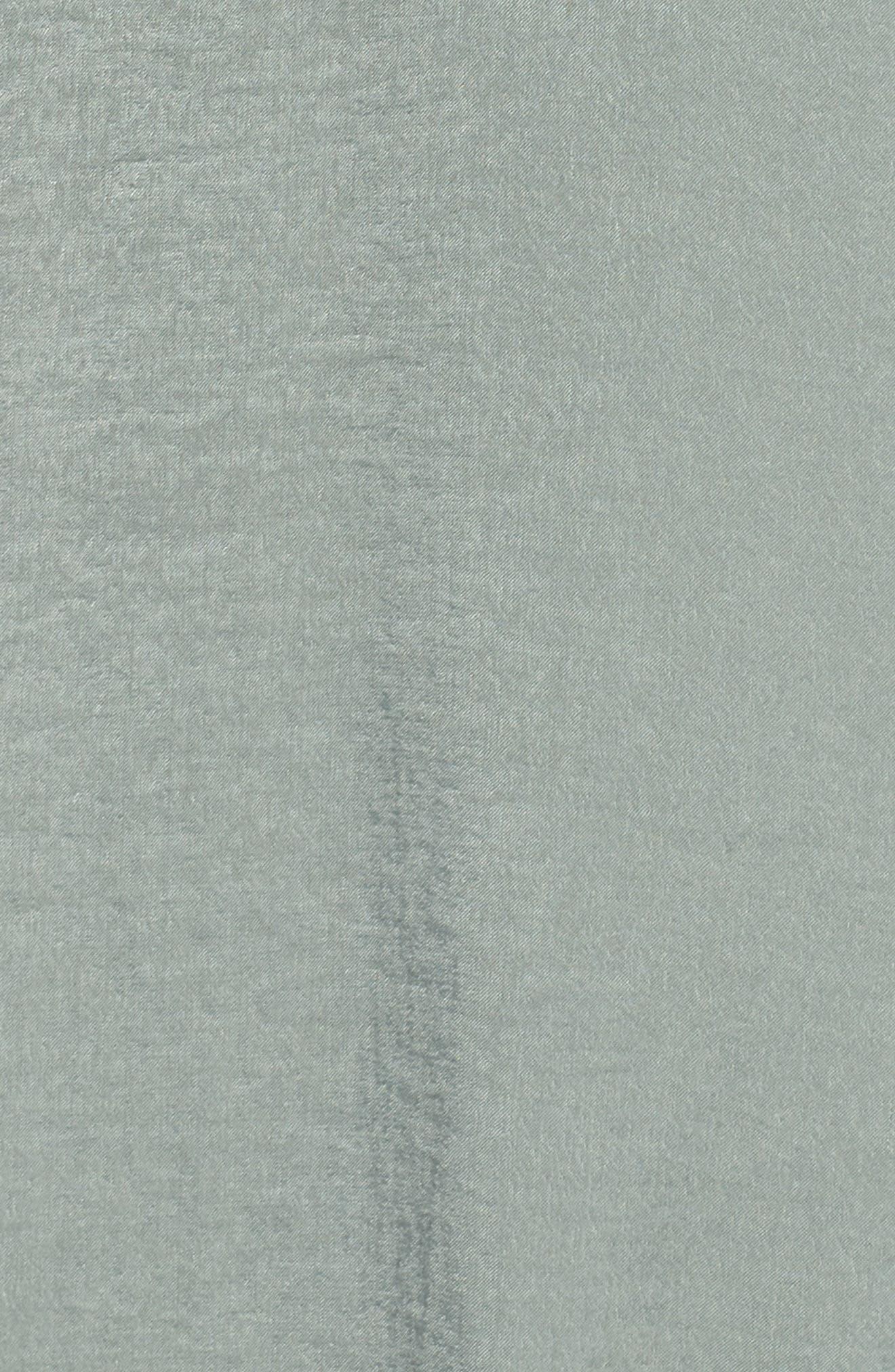 Jennifer Shimmer Satin Wrap Dress,                             Alternate thumbnail 6, color,                             321