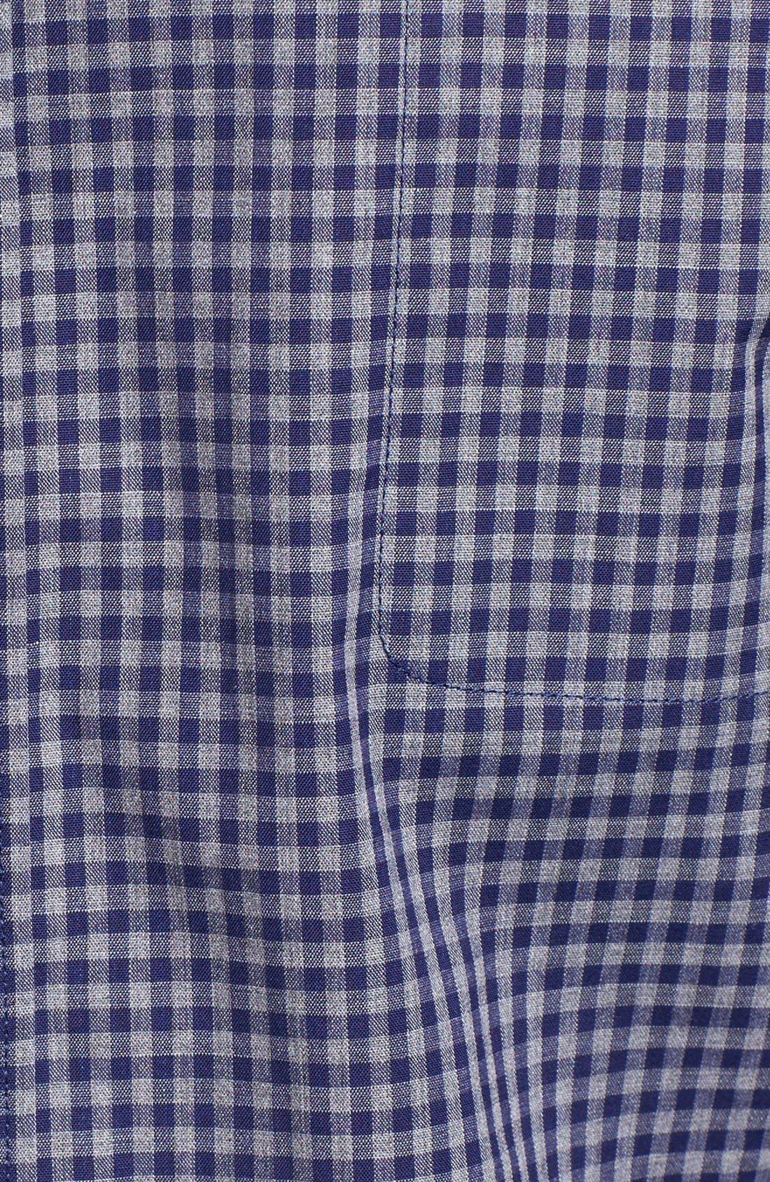 Fitzpatrick Trim Fit Sport Shirt,                             Alternate thumbnail 5, color,                             400
