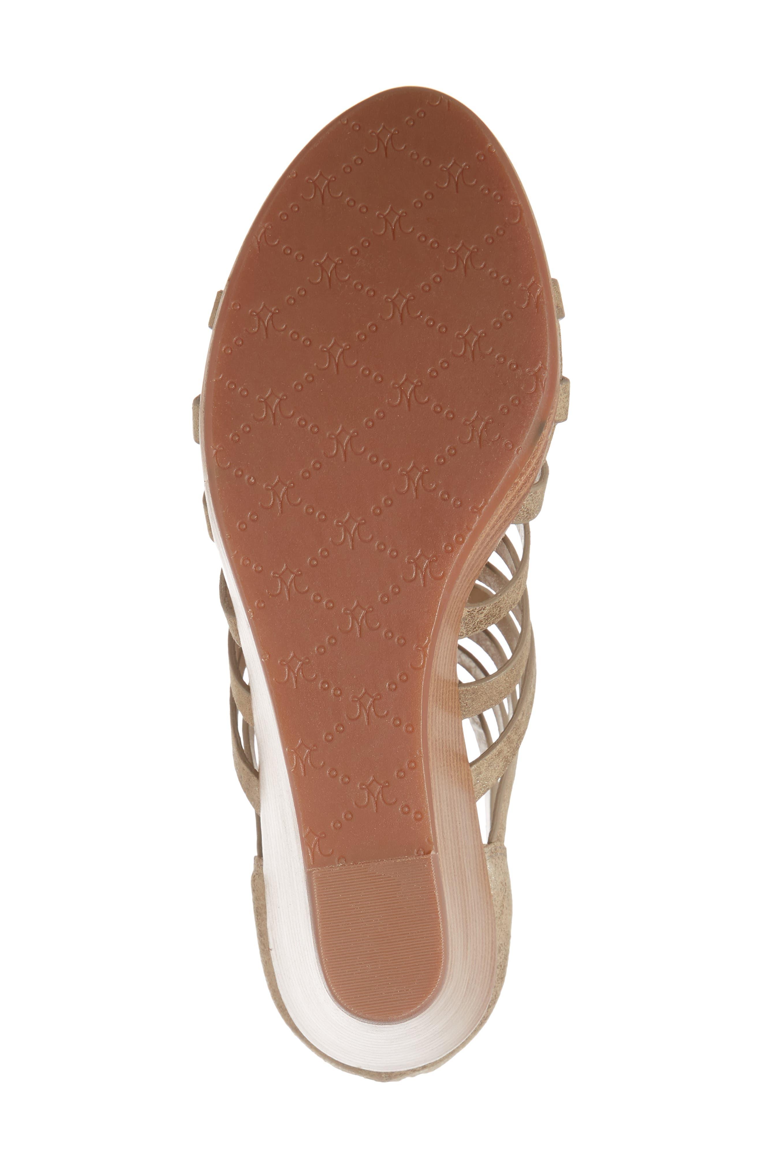 Geneva Strappy Wedge Sandal,                             Alternate thumbnail 12, color,