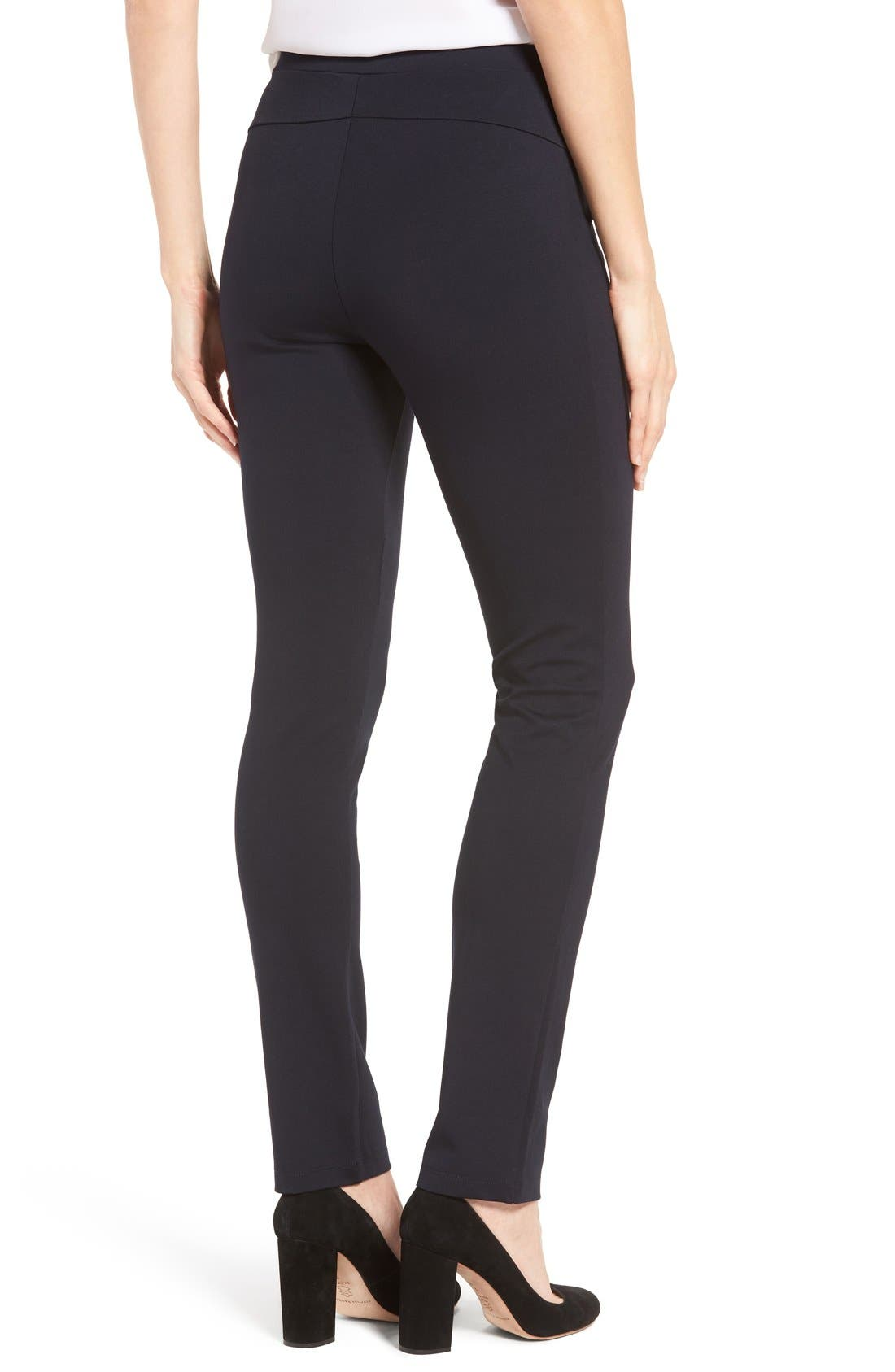 'The Perfect Ponte' Pants,                             Alternate thumbnail 10, color,                             MIDNIGHT