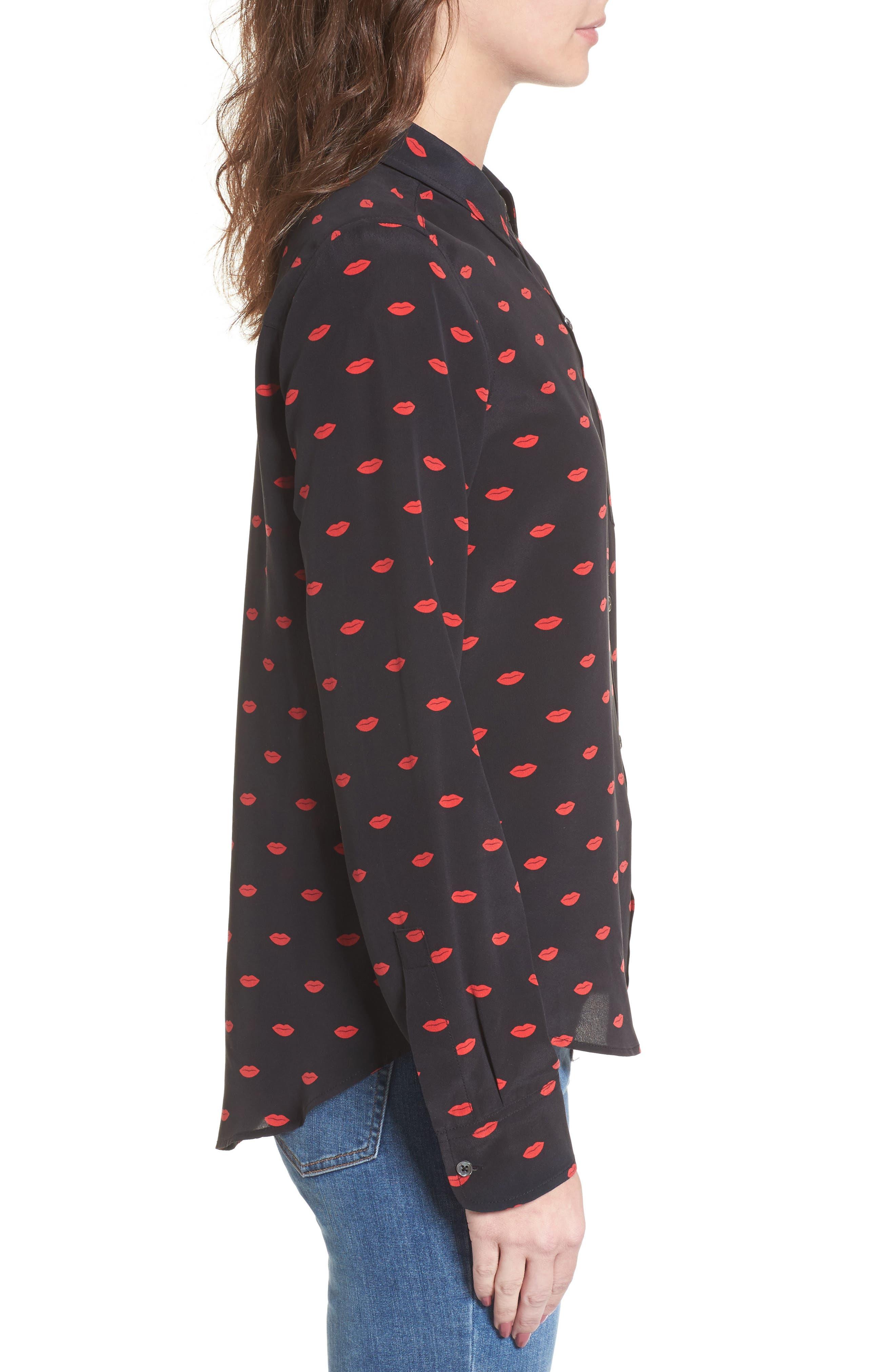 Kate Print Shirt,                             Alternate thumbnail 36, color,