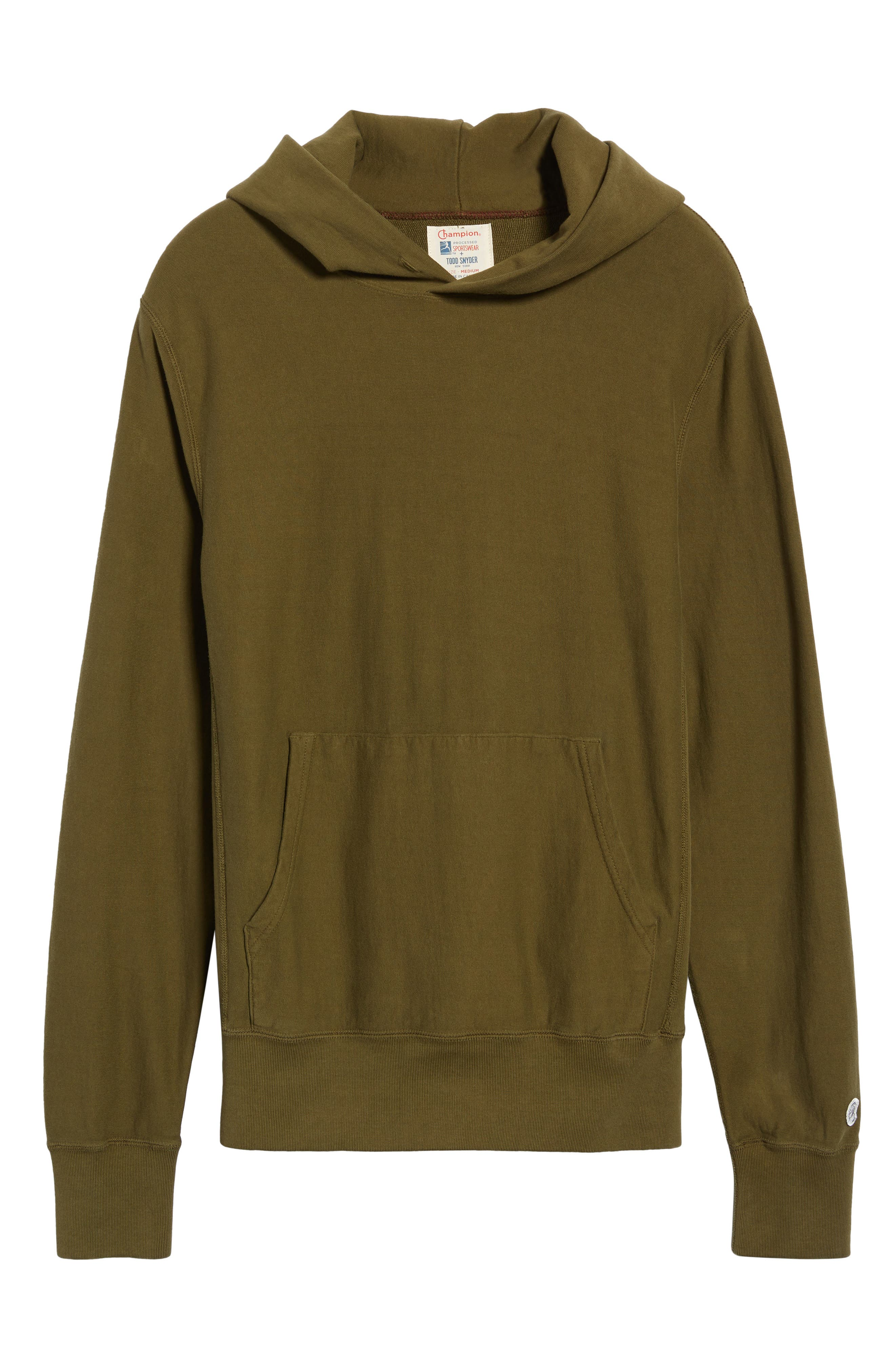 Popover Hoodie,                             Alternate thumbnail 6, color,                             OLIVE