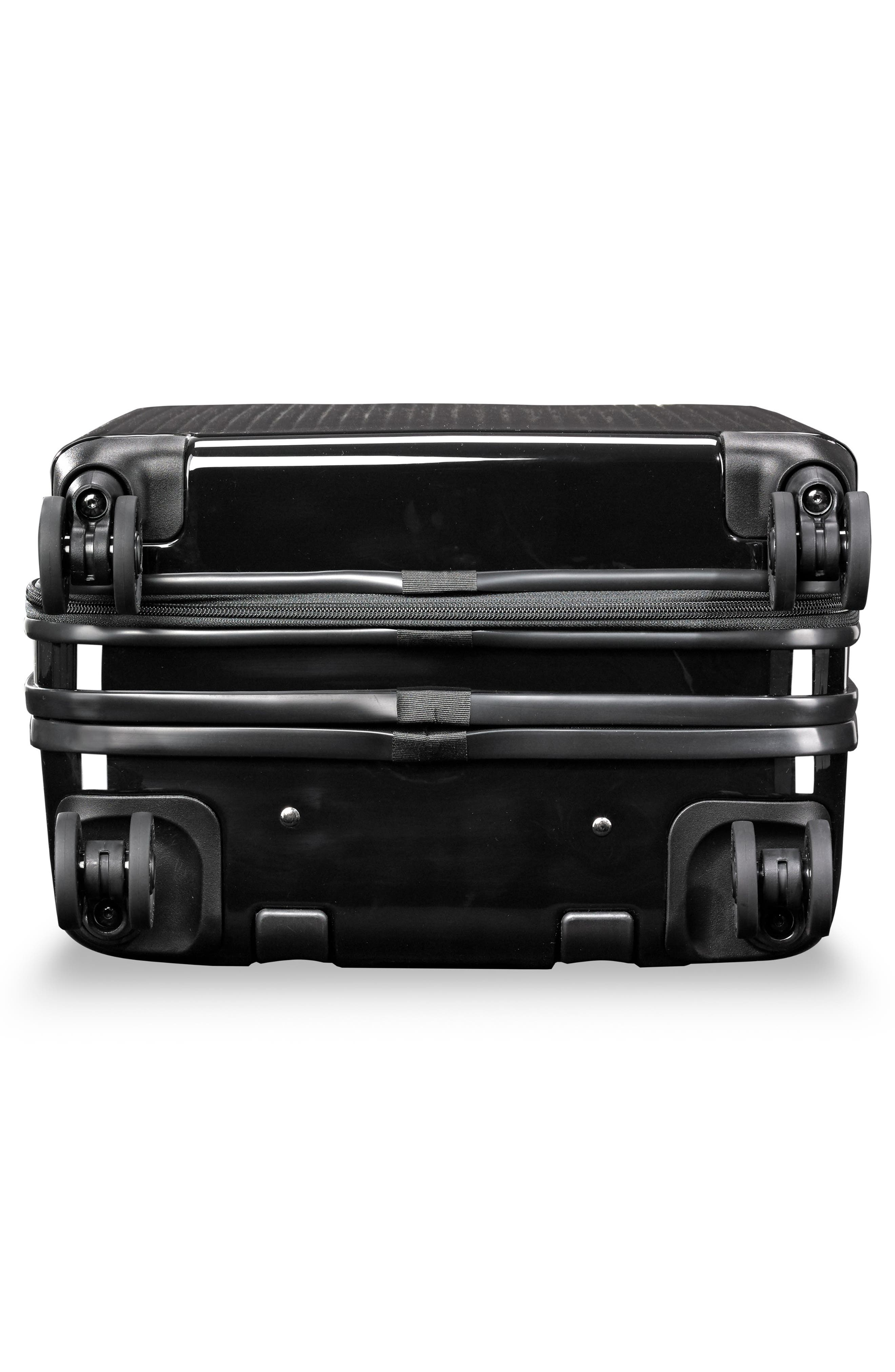 22-Inch Domestic Expandable Spinner Wheeled Carry-On,                             Alternate thumbnail 7, color,                             ONYX GLOSS