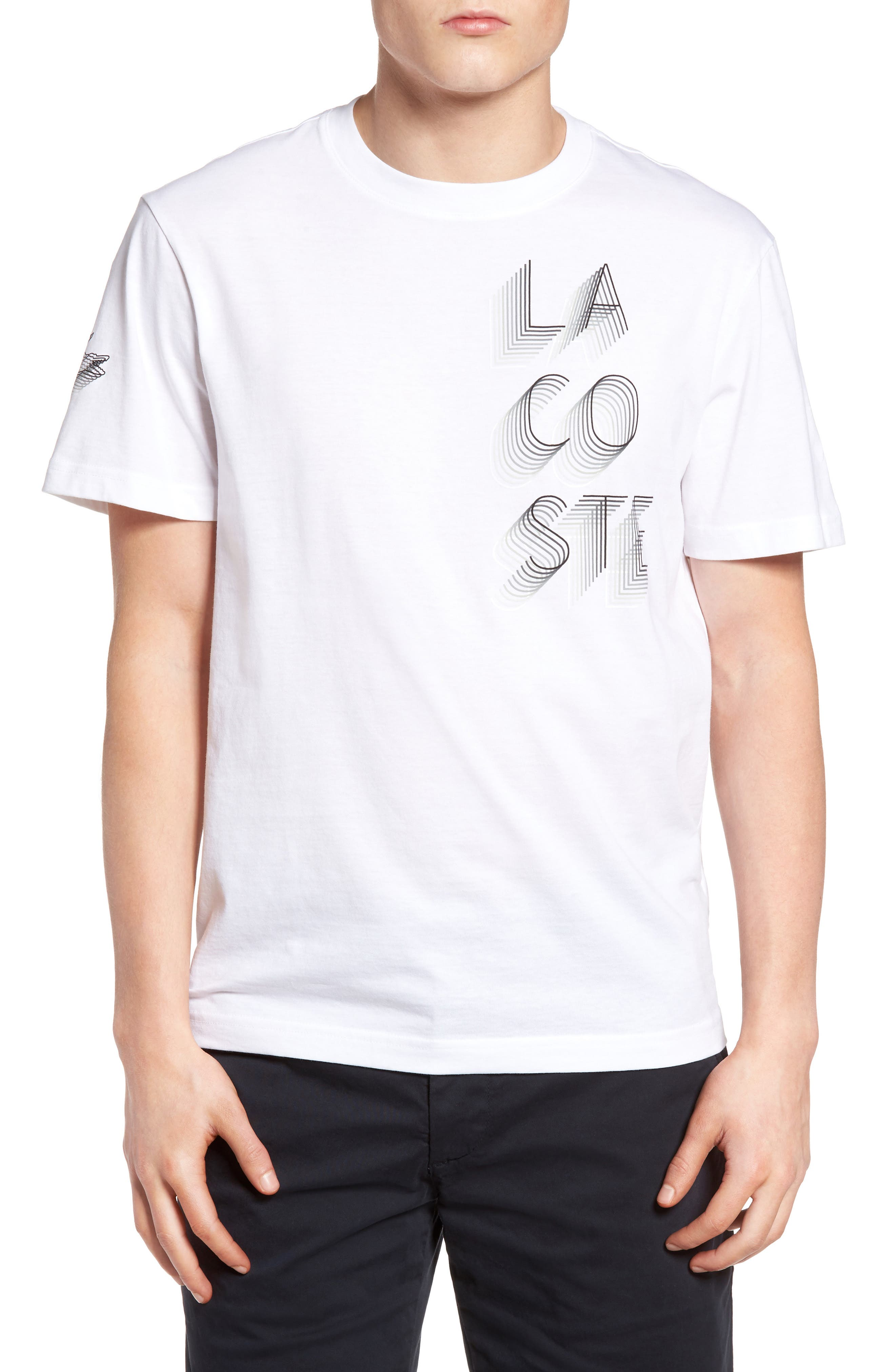 3D Print Logo Graphic T-Shirt,                             Main thumbnail 3, color,