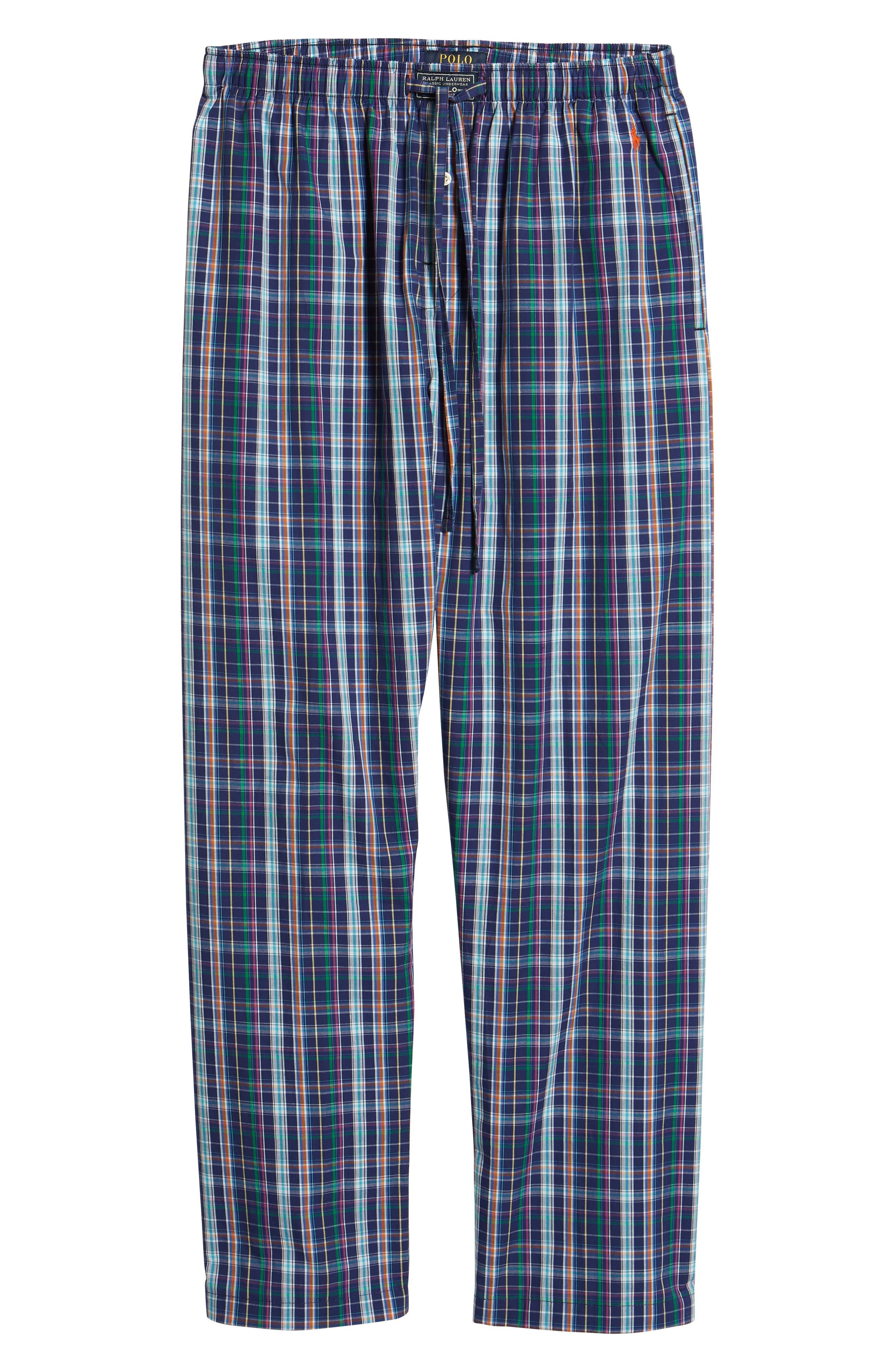 Cotton Lounge Pants,                             Alternate thumbnail 6, color,                             423
