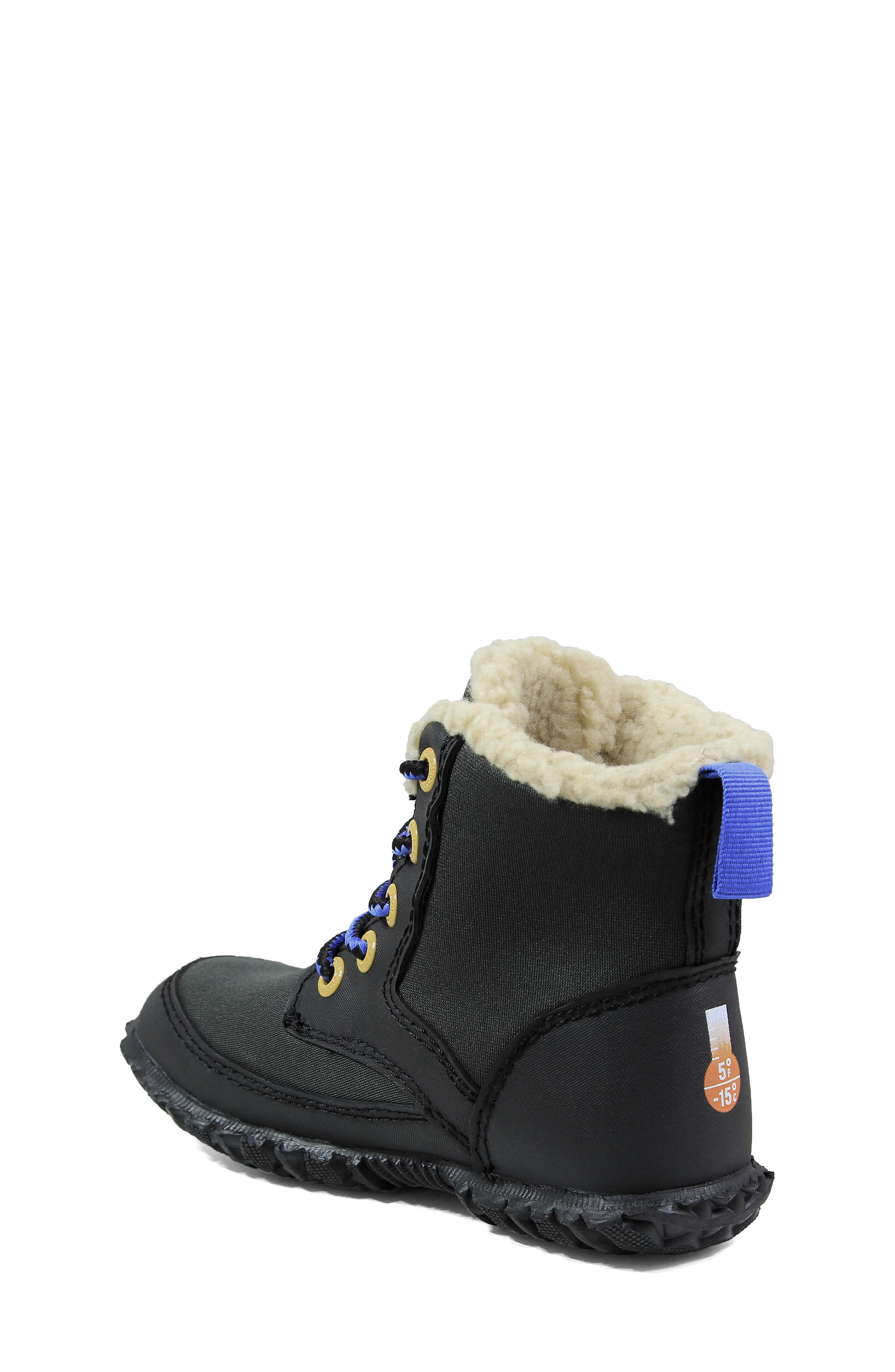 Skyler Faux Fur Insulated Waterproof Boot,                             Alternate thumbnail 4, color,
