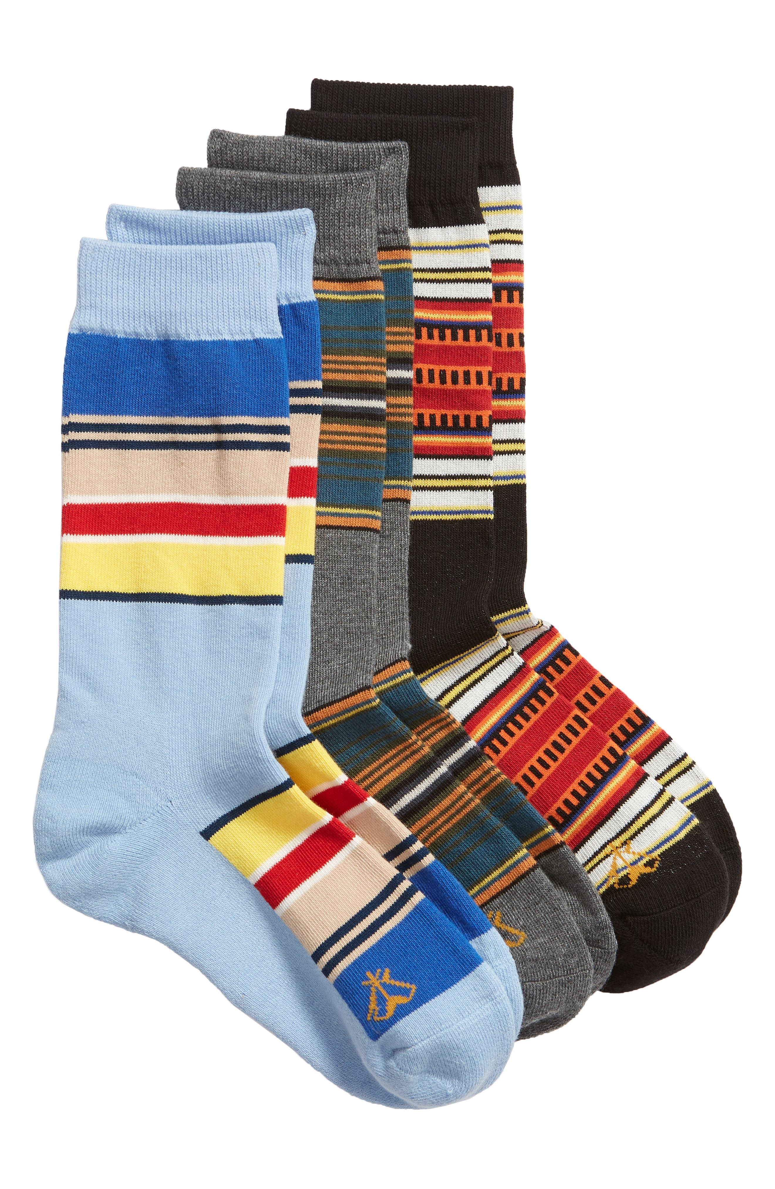 PENDLETON National Park 3-Pack Crew Socks Gift Box in Assorted Bright