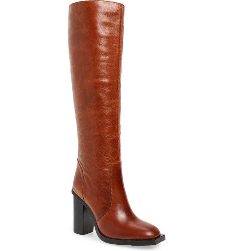 Jeffrey Campbell Ittonia Knee High Boot  (Wide Calf) | Nordstrom