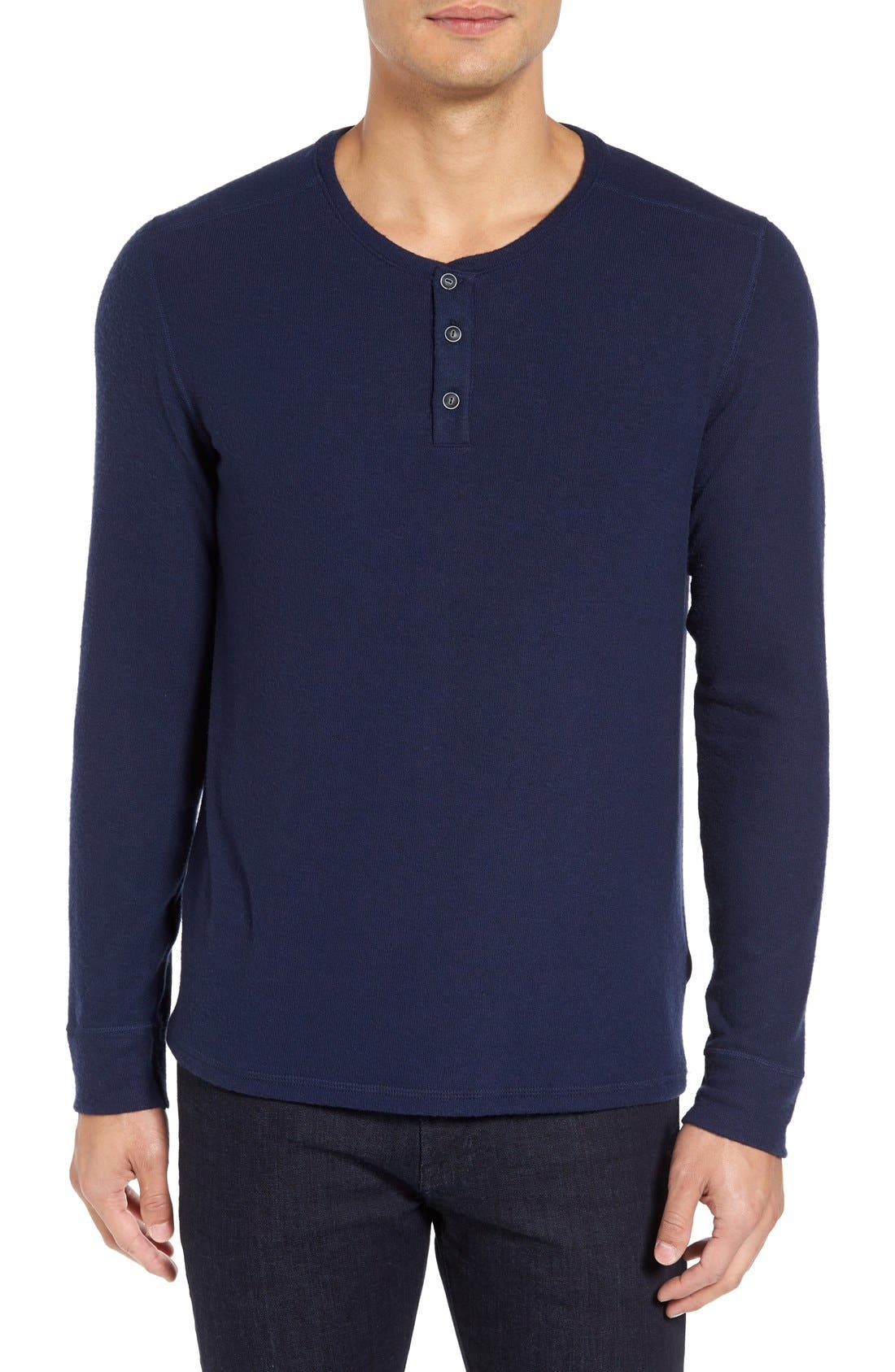 Long Sleeve Henley,                             Main thumbnail 5, color,