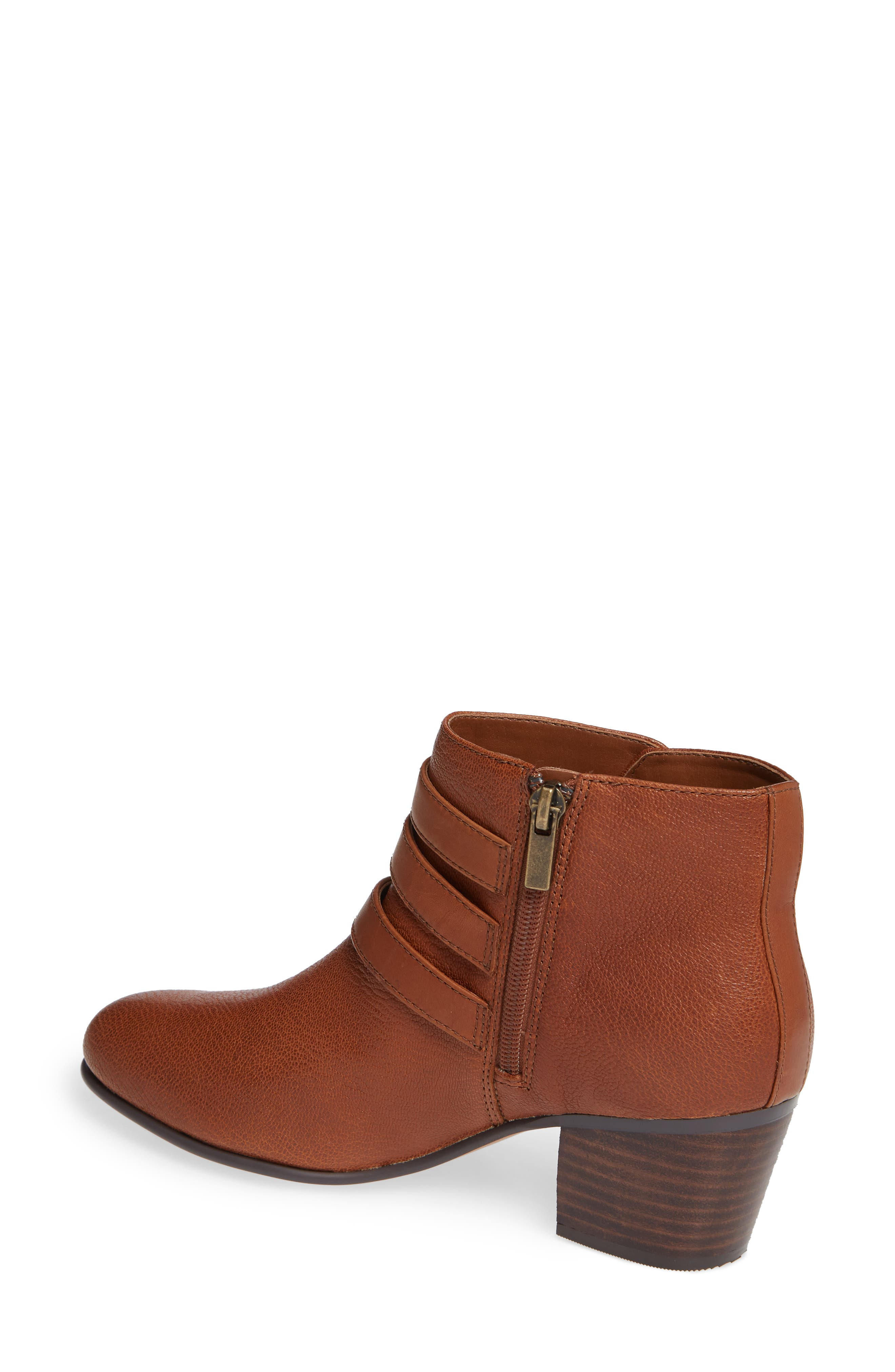 Maypearl Rayna Boot,                             Alternate thumbnail 2, color,                             DARK TAN LEATHER