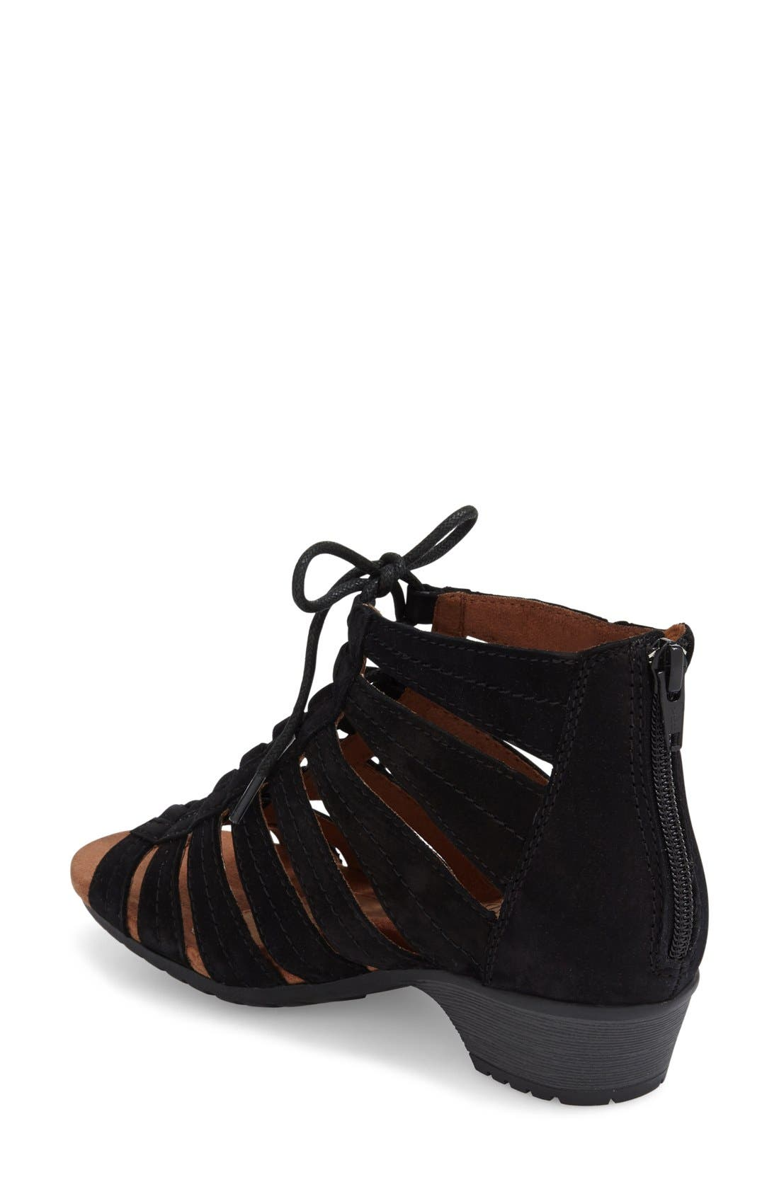 'Gabby' Lace-Up Sandal,                             Alternate thumbnail 11, color,