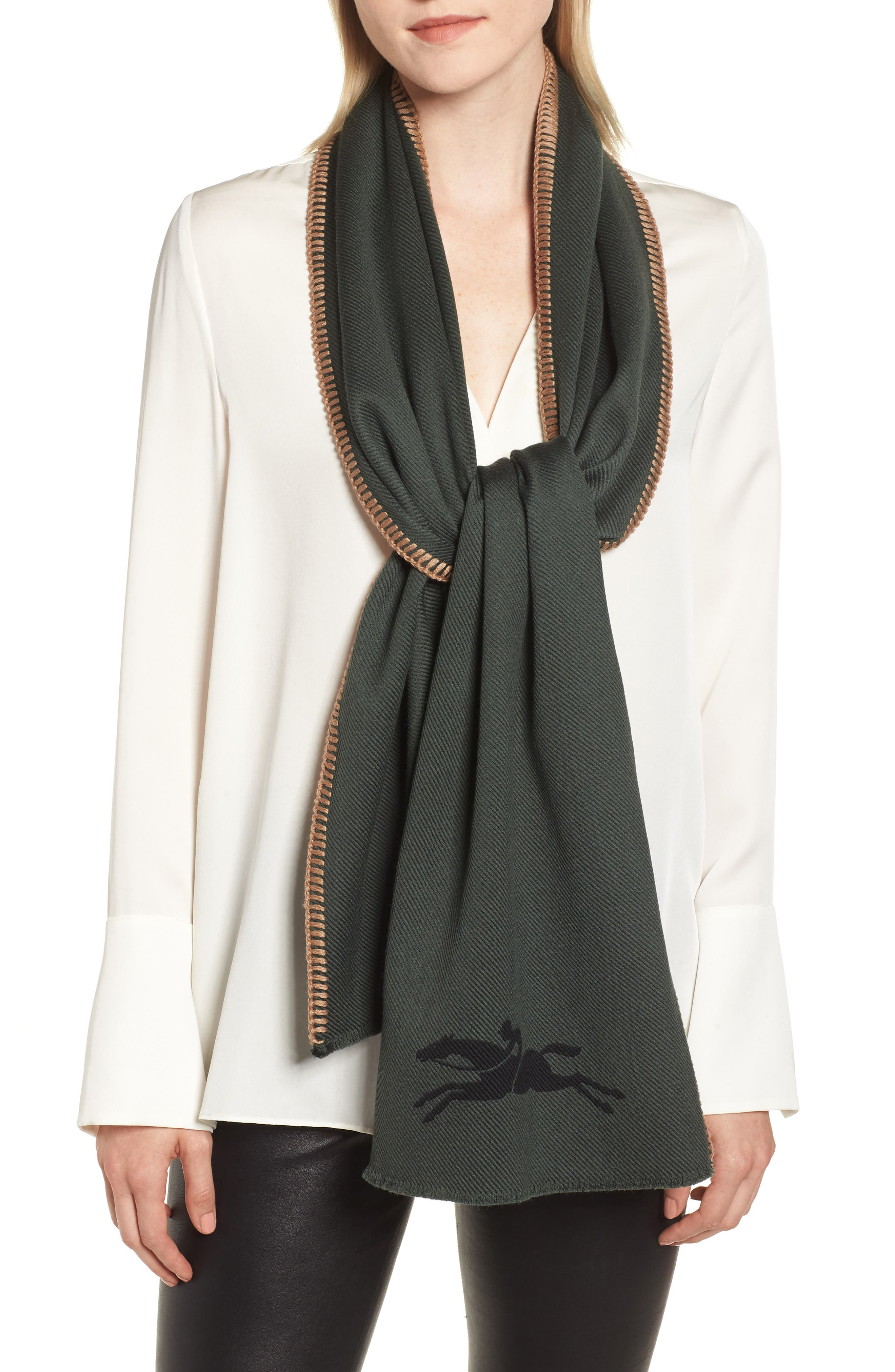 Wool & Silk Scarf,                         Main,                         color, 300