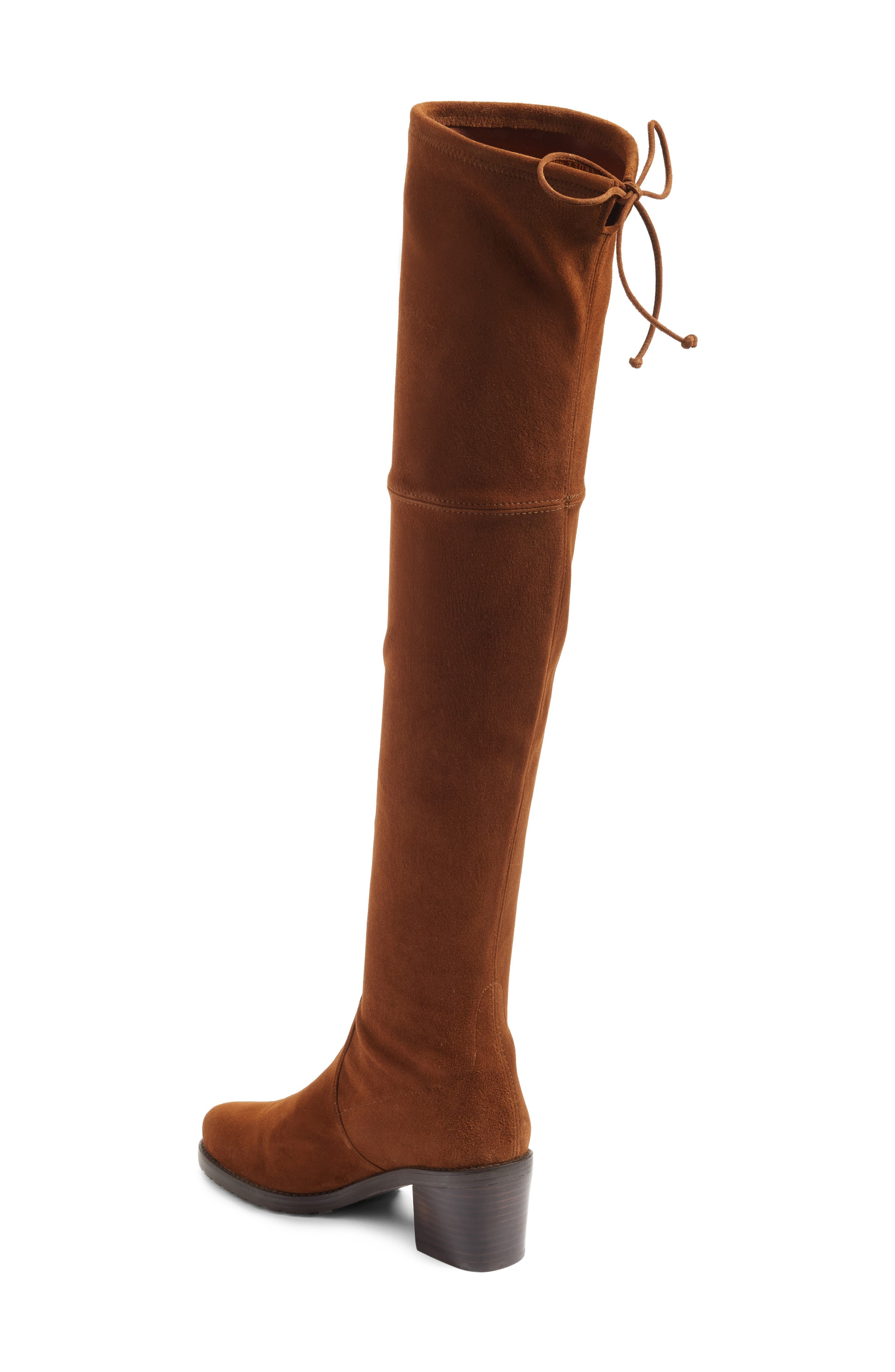 Elevated Over the Knee Boot,                             Alternate thumbnail 4, color,
