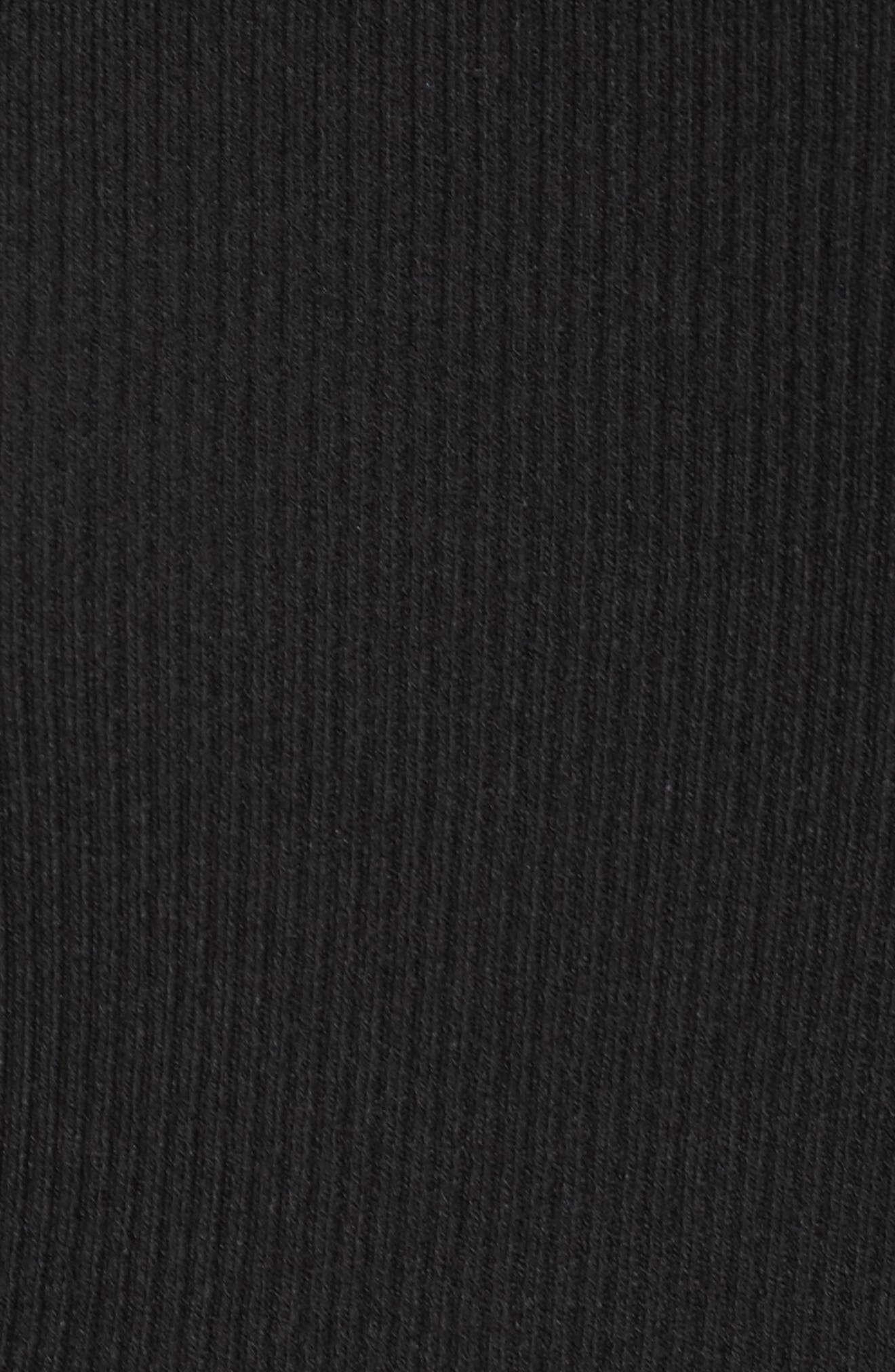 Lace Inset Ribbed Sweater,                             Alternate thumbnail 5, color,