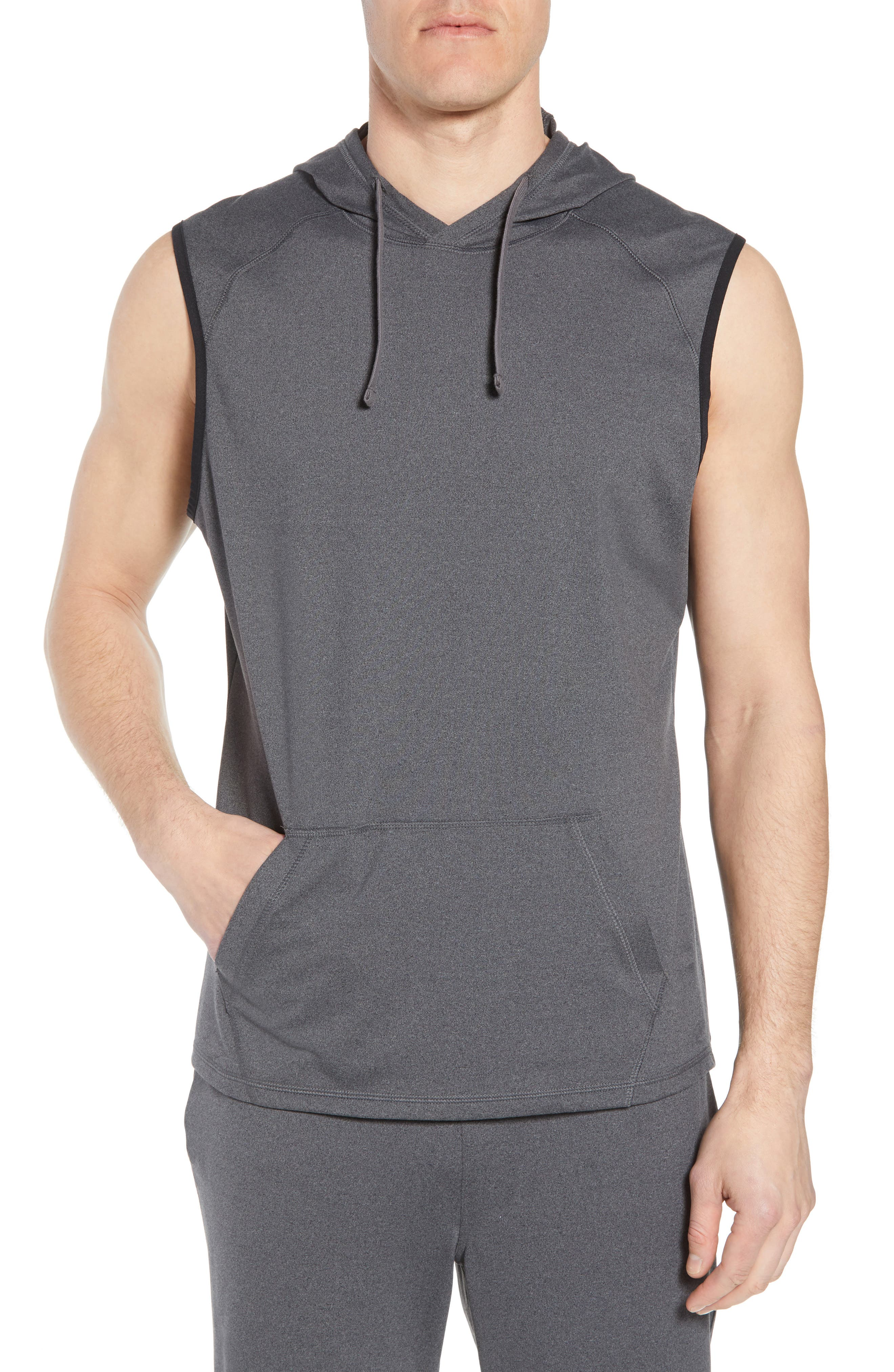 Active Sleeveless Hoodie,                         Main,                         color, 021