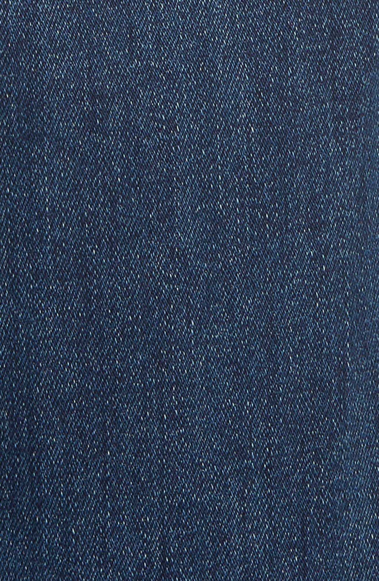 The Swooner High Waist Crop Wide Leg Jeans,                             Alternate thumbnail 5, color,                             429