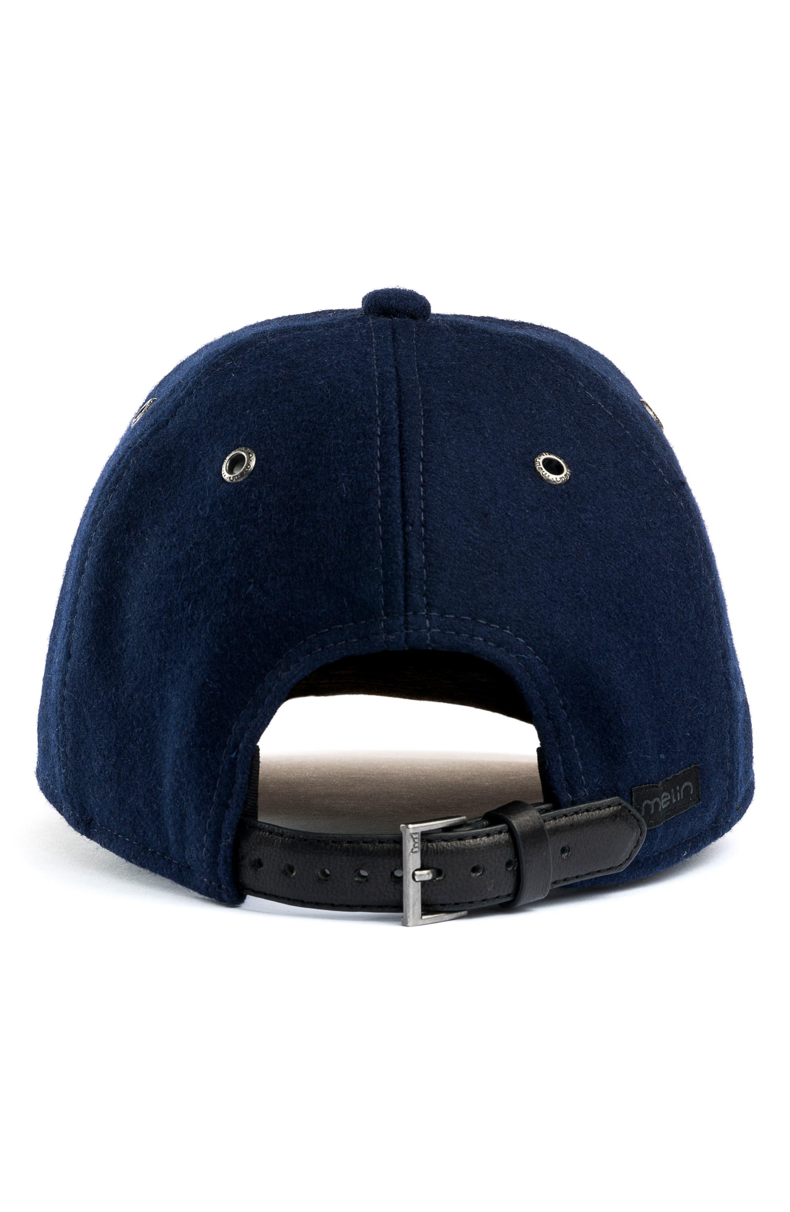 Midnight Baseball Cap,                             Alternate thumbnail 3, color,                             NAVY