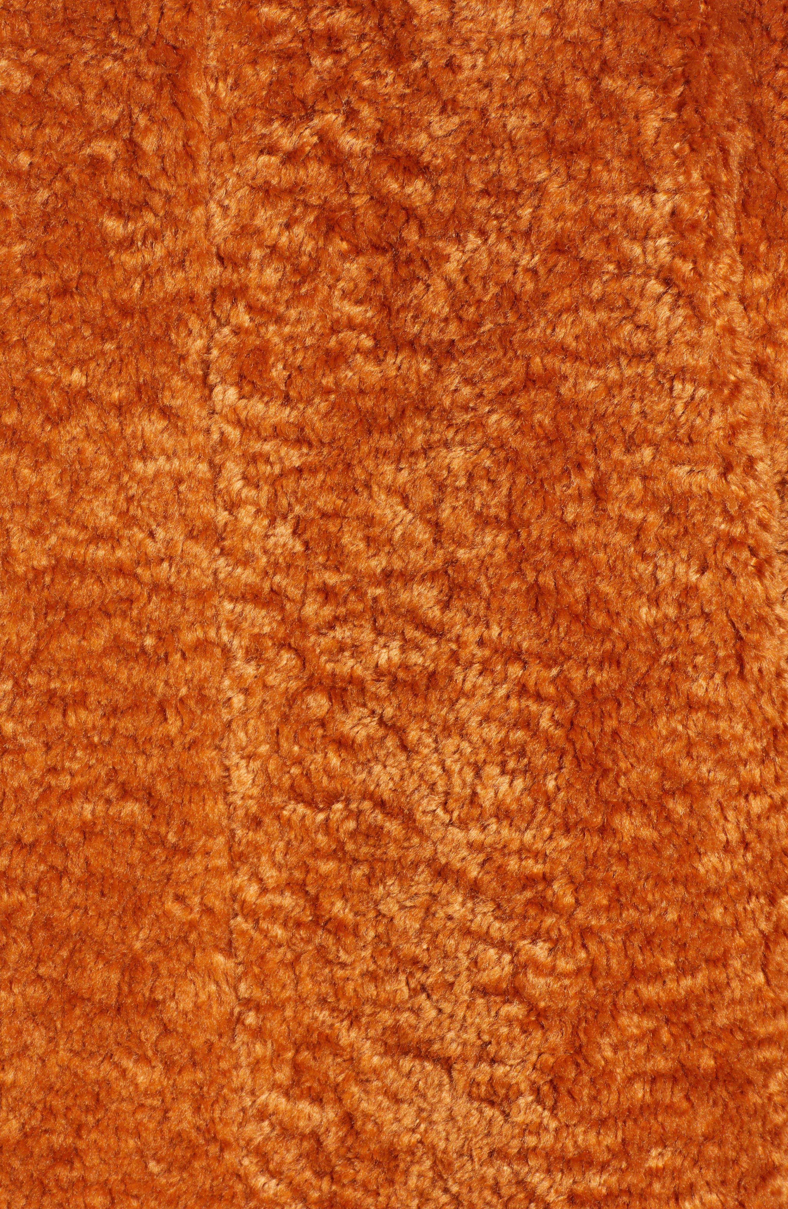 x Atlantic-Pacific Faux Fur Coat,                             Alternate thumbnail 7, color,                             RUST GINGER