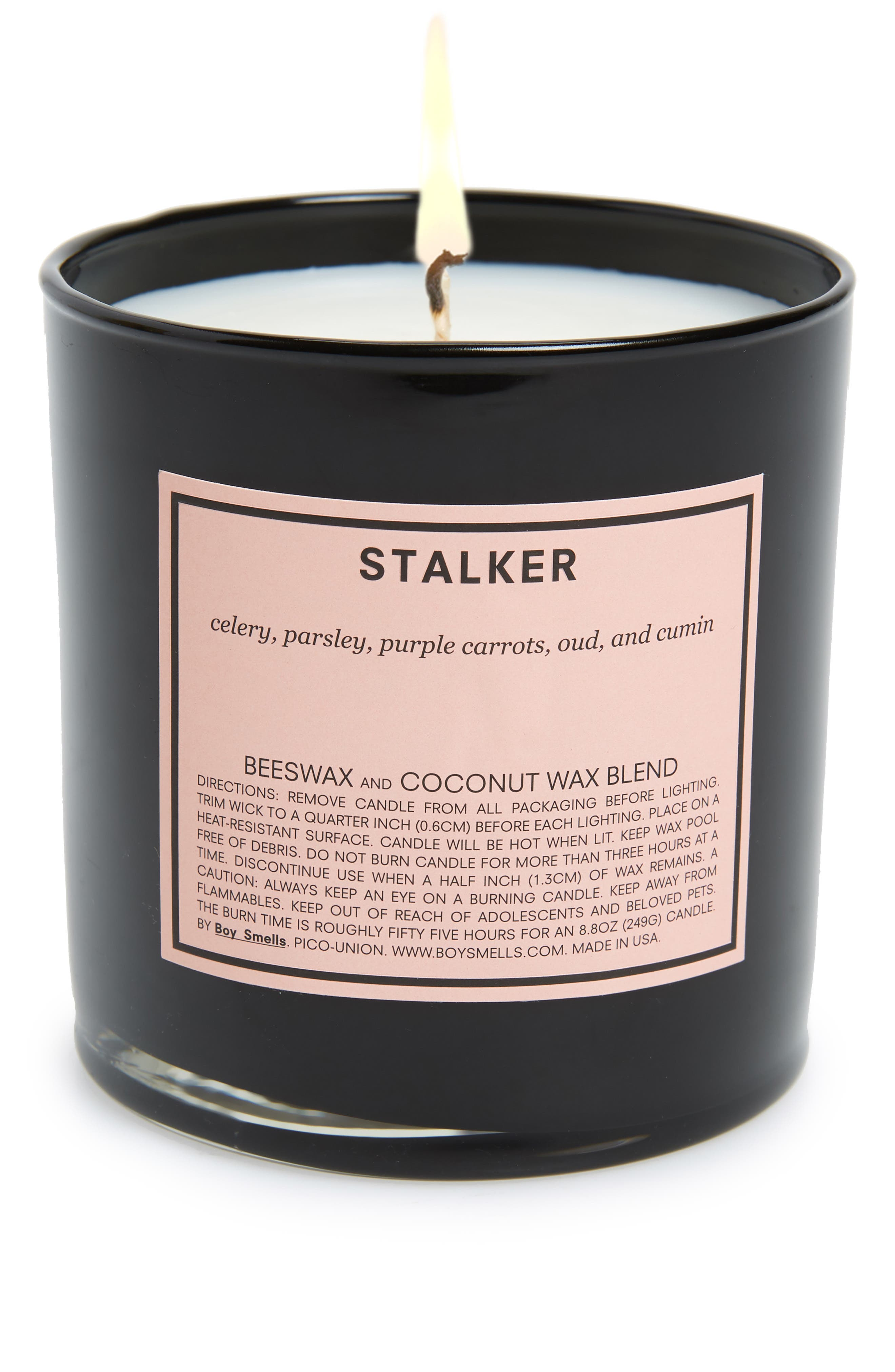 Stalker Scented Candle,                             Main thumbnail 1, color,                             PINK