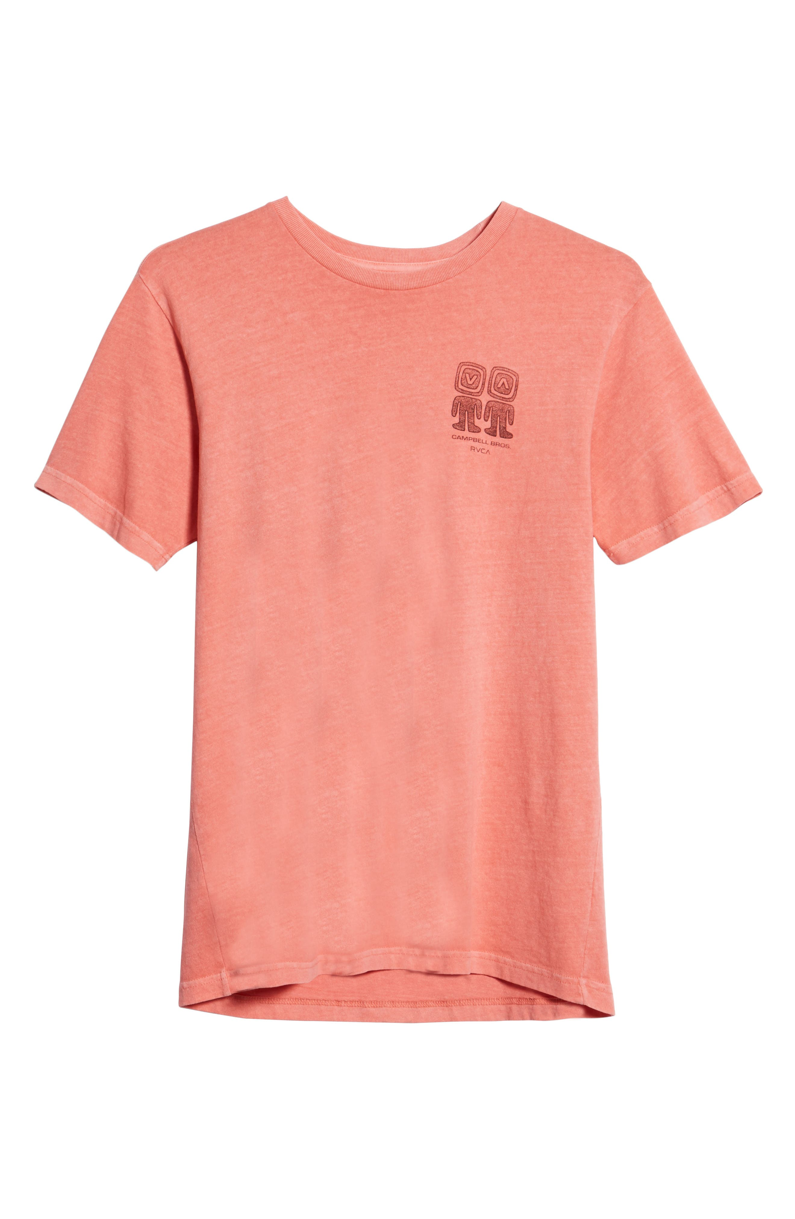 Campbell Brothers T-Shirt,                             Alternate thumbnail 6, color,                             PINK