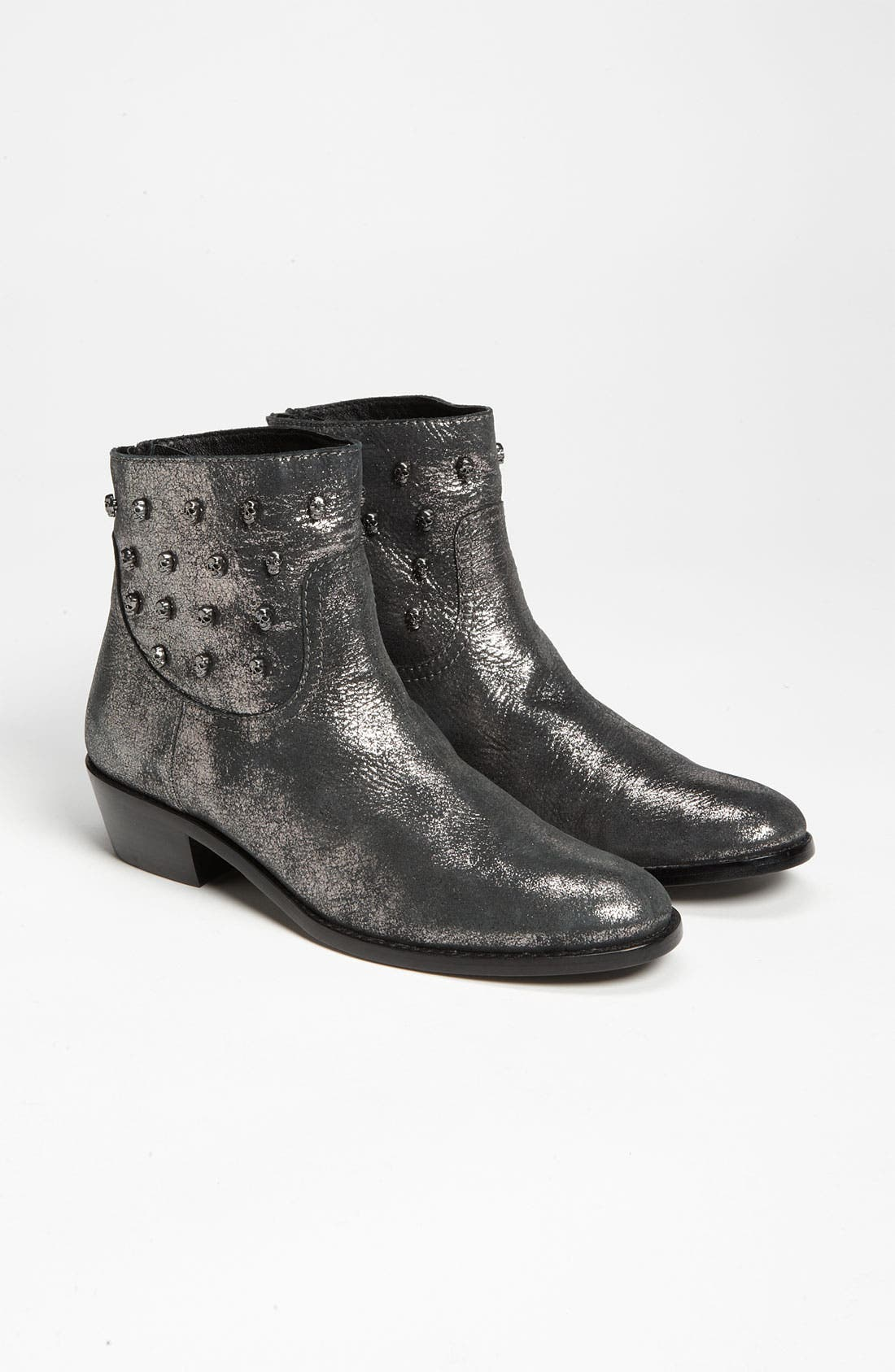 ZADIG & VOLTAIRE,                             'Teddy' Boot,                             Alternate thumbnail 3, color,                             001
