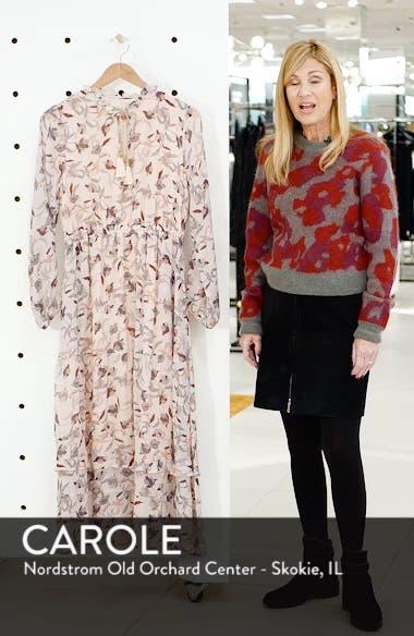 Frances Floral Silk Maxi Dress, sales video thumbnail