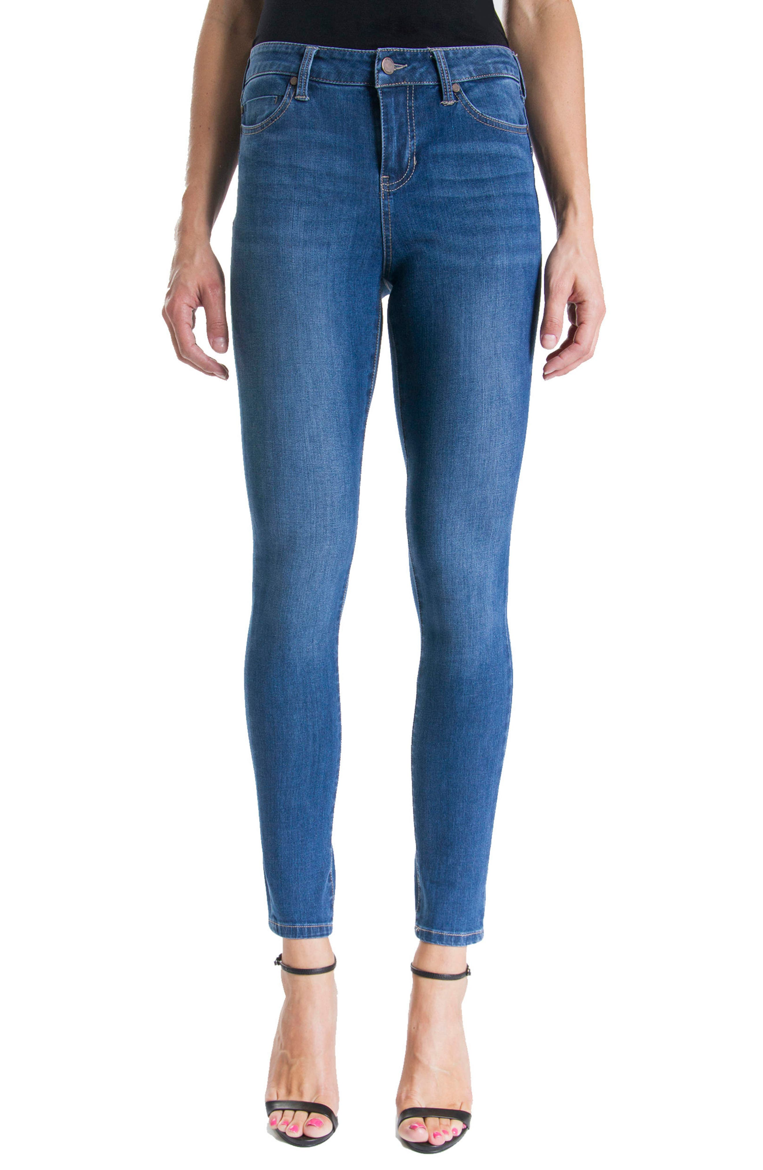 Jeans Company Piper Hugger Lift Sculpt Ankle Skinny Jeans,                             Main thumbnail 3, color,