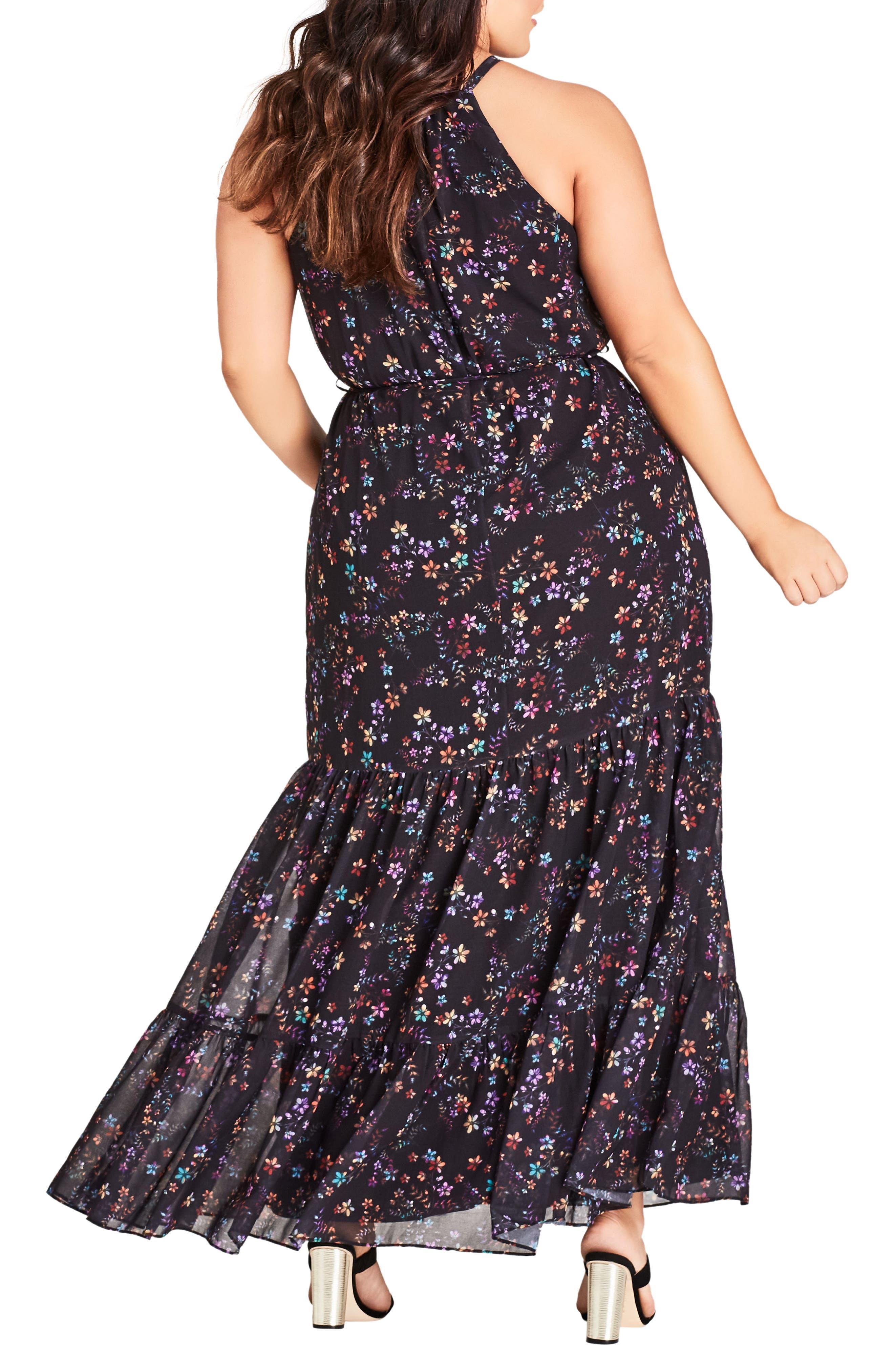 Sweet Dreams Maxi Dress,                             Alternate thumbnail 2, color,                             DREAMY FLORAL