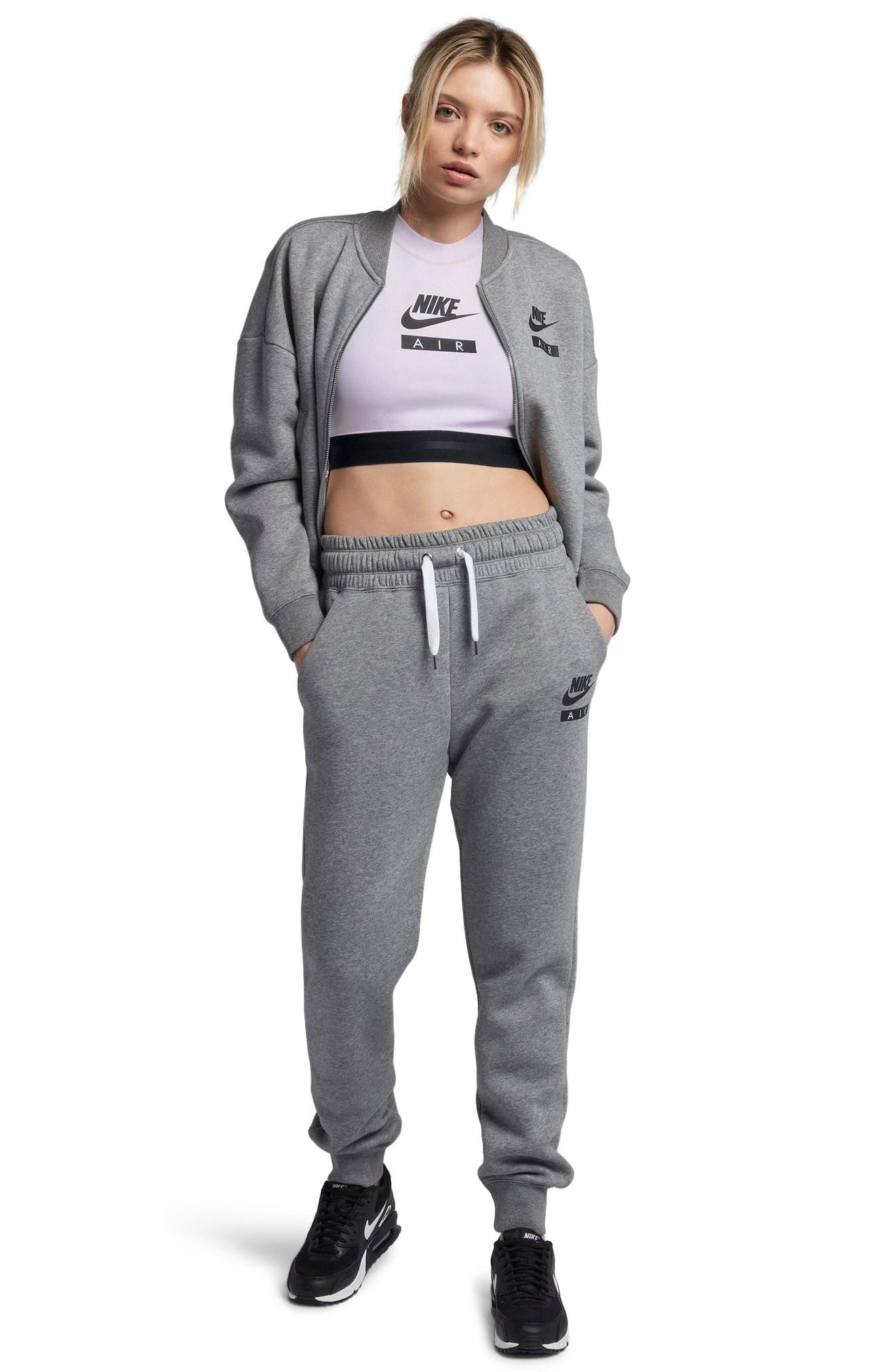 Sportswear Air Crop Top,                             Alternate thumbnail 4, color,                             509