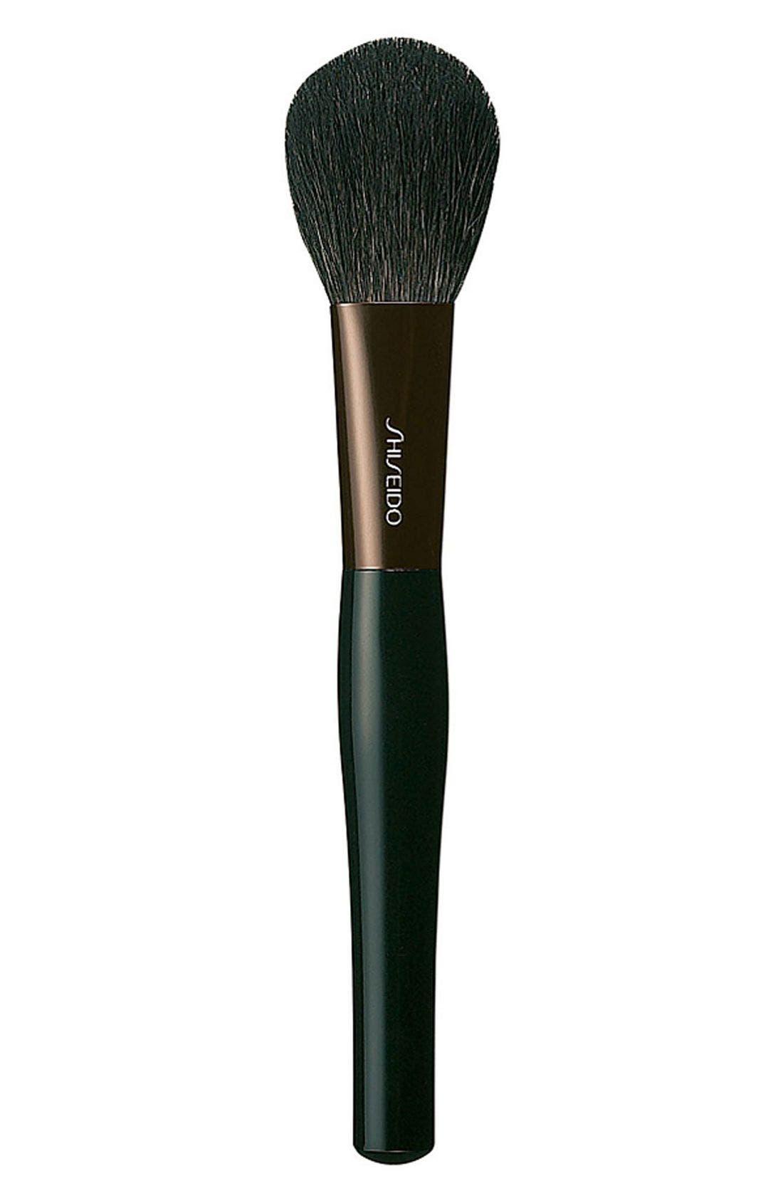 'The Makeup' Blush Brush,                             Main thumbnail 1, color,                             000