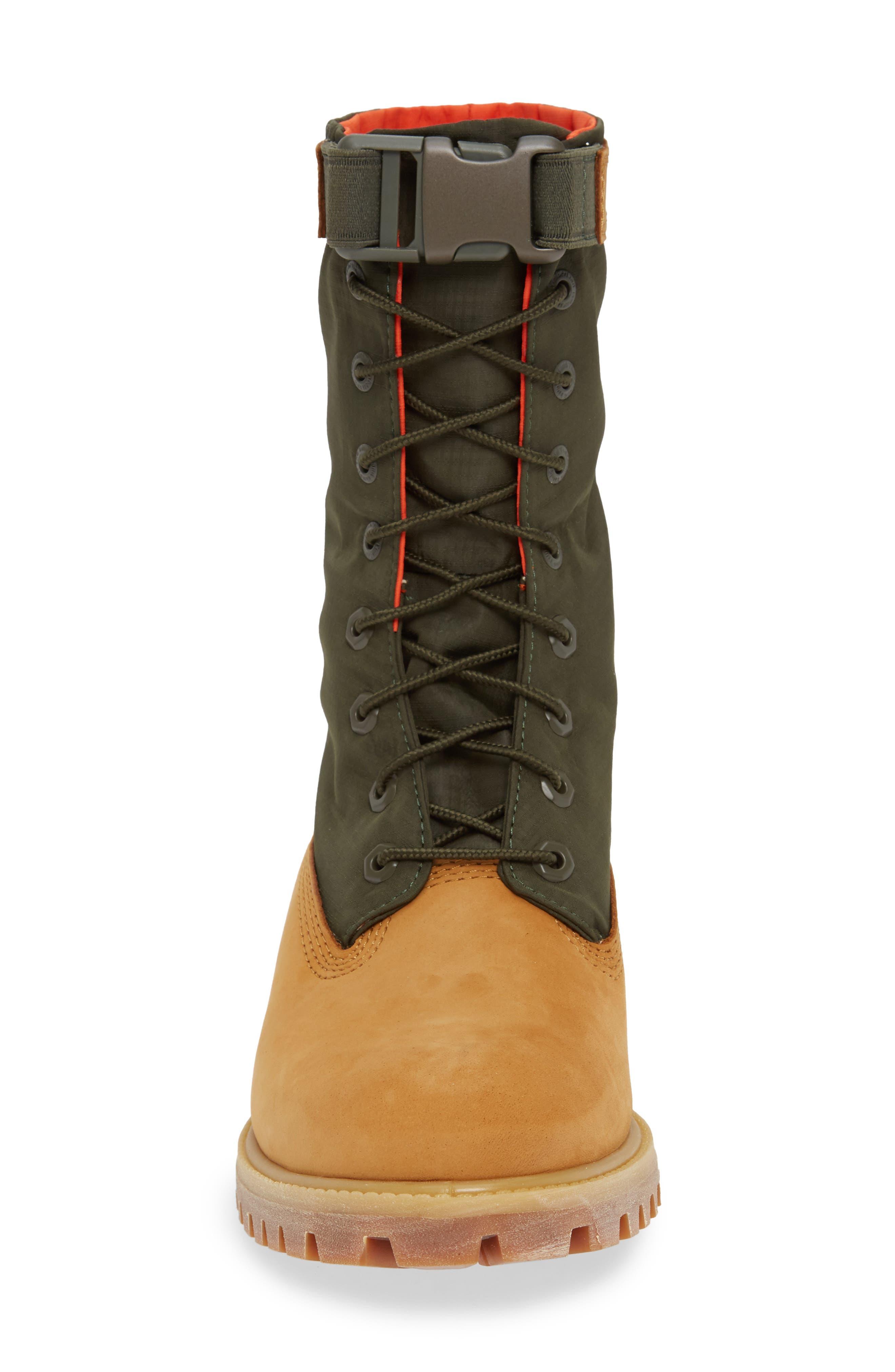 TIMBERLAND,                             Premium Gaiter Plain Toe Boot,                             Alternate thumbnail 4, color,                             231