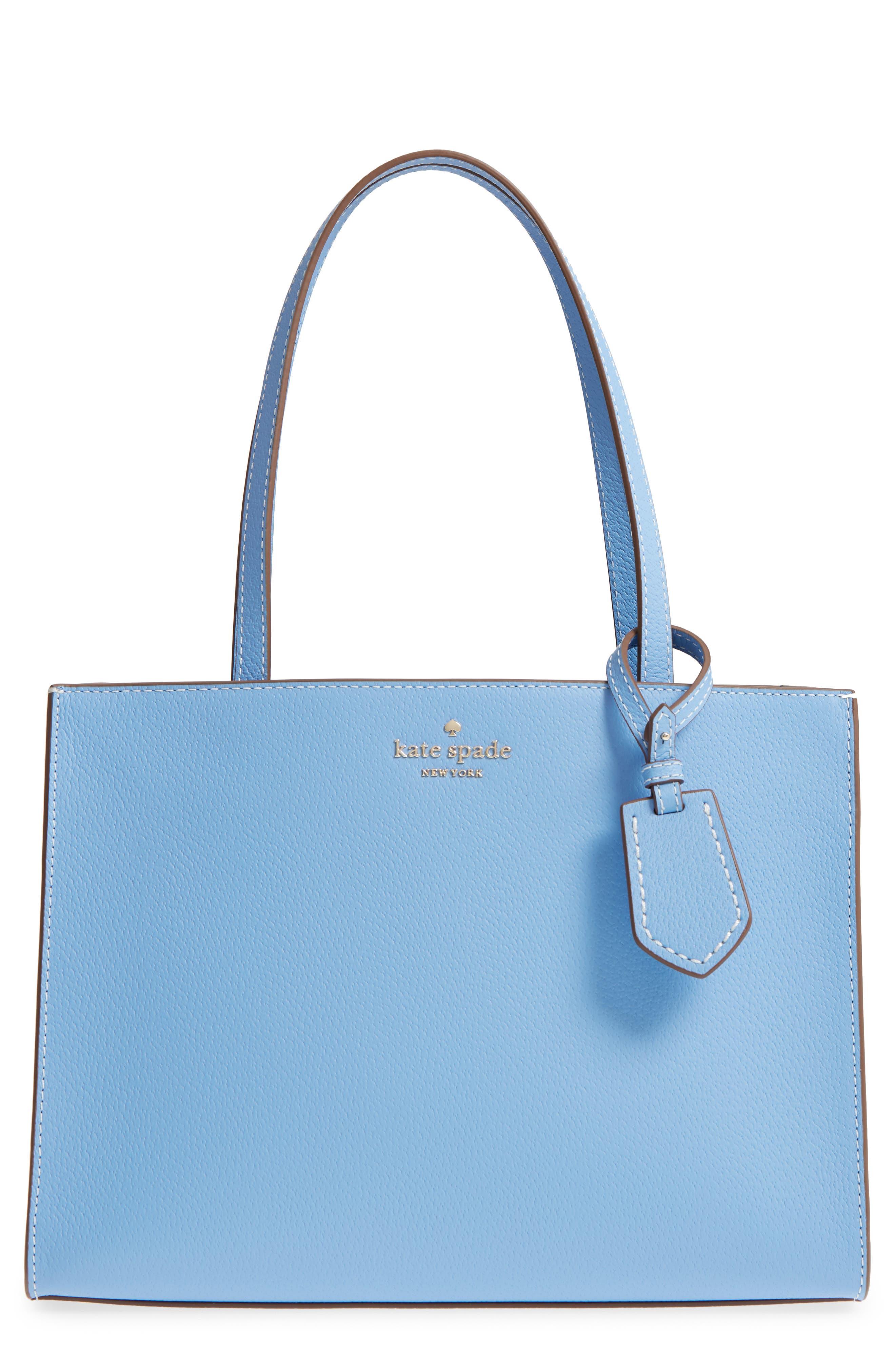 thompson street - large sam leather handbag,                             Main thumbnail 2, color,