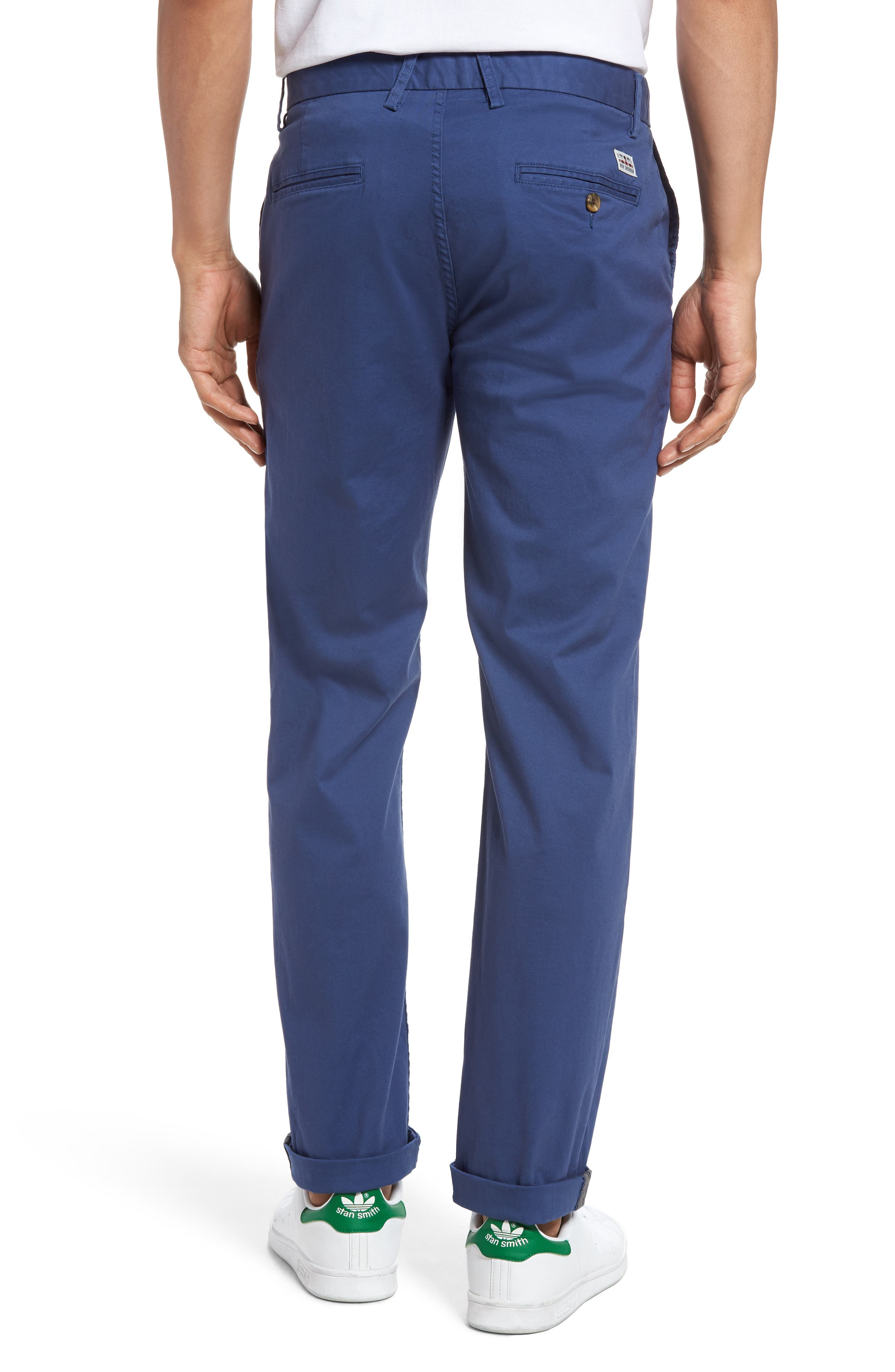 Slim Fit Stretch Chinos,                             Alternate thumbnail 21, color,