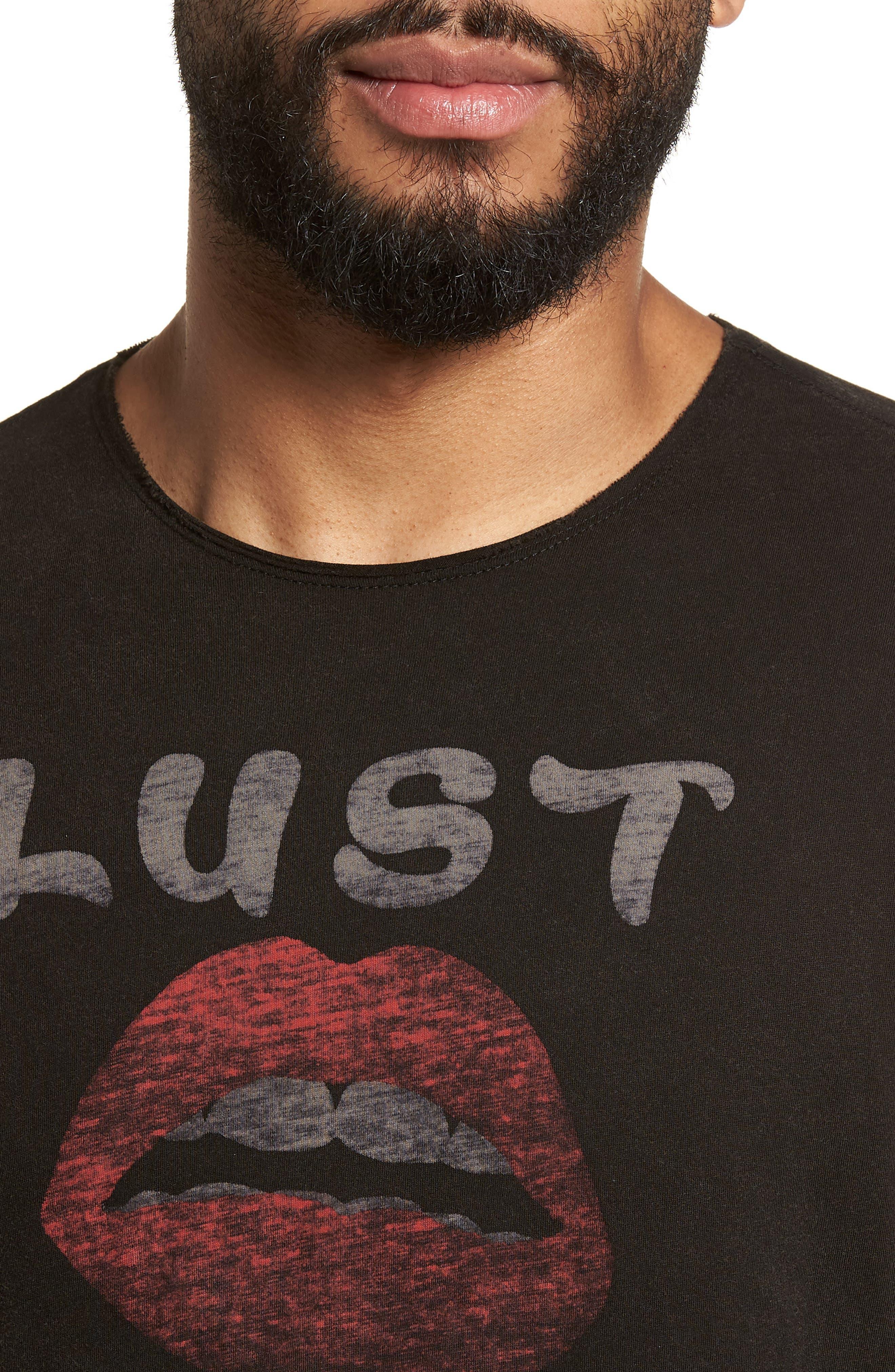 Lust or Bust T-Shirt,                             Alternate thumbnail 4, color,                             001