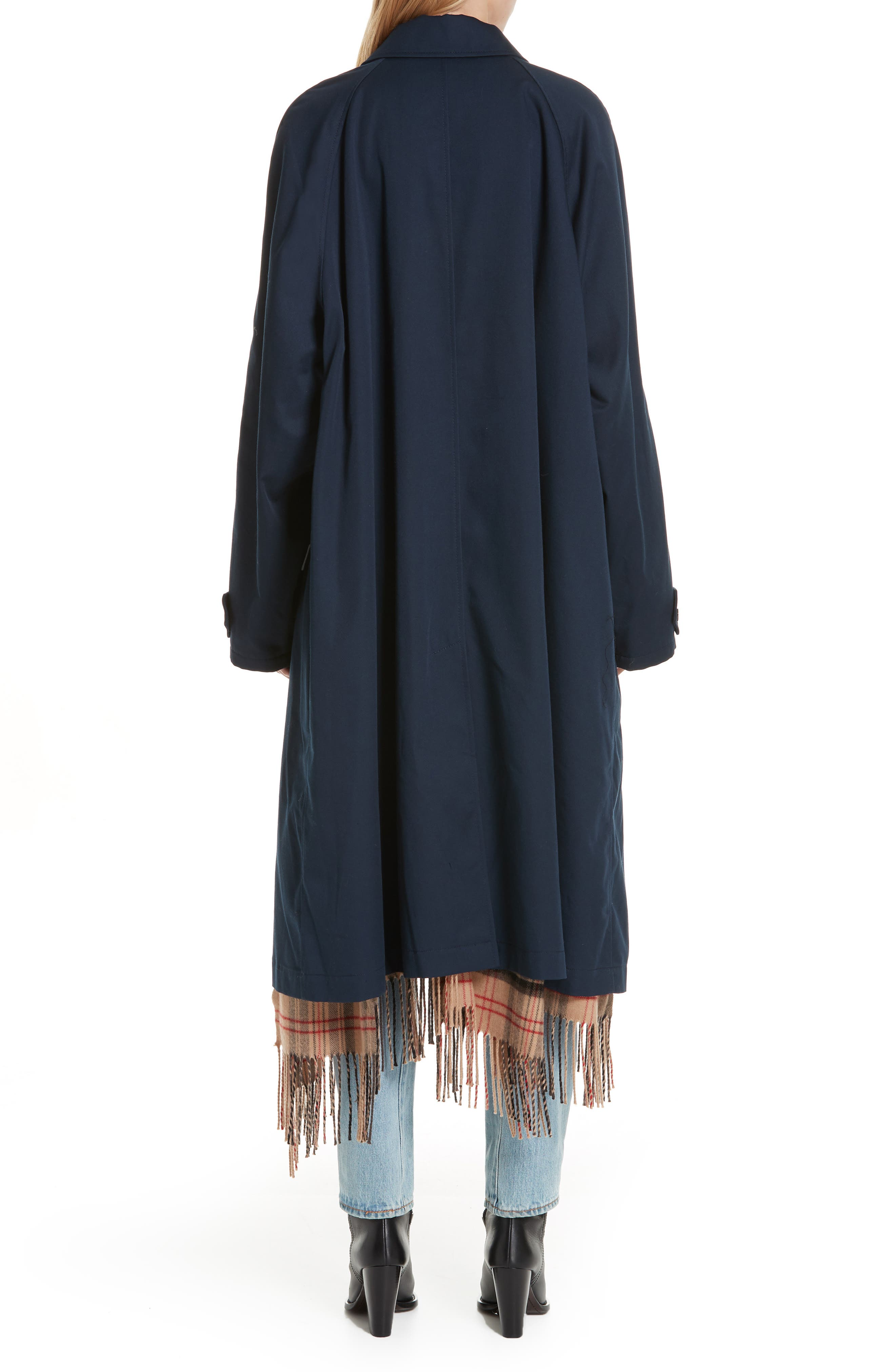 Scarf Trench Coat,                             Alternate thumbnail 2, color,                             410