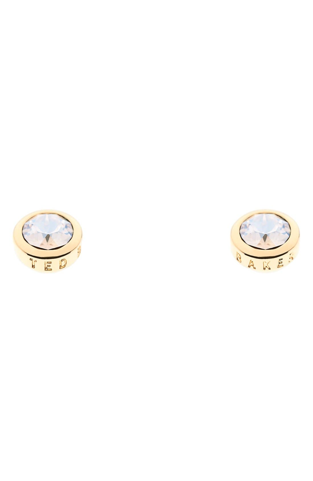 'Sinaa' Crystal Stud Earrings,                         Main,                         color, 710