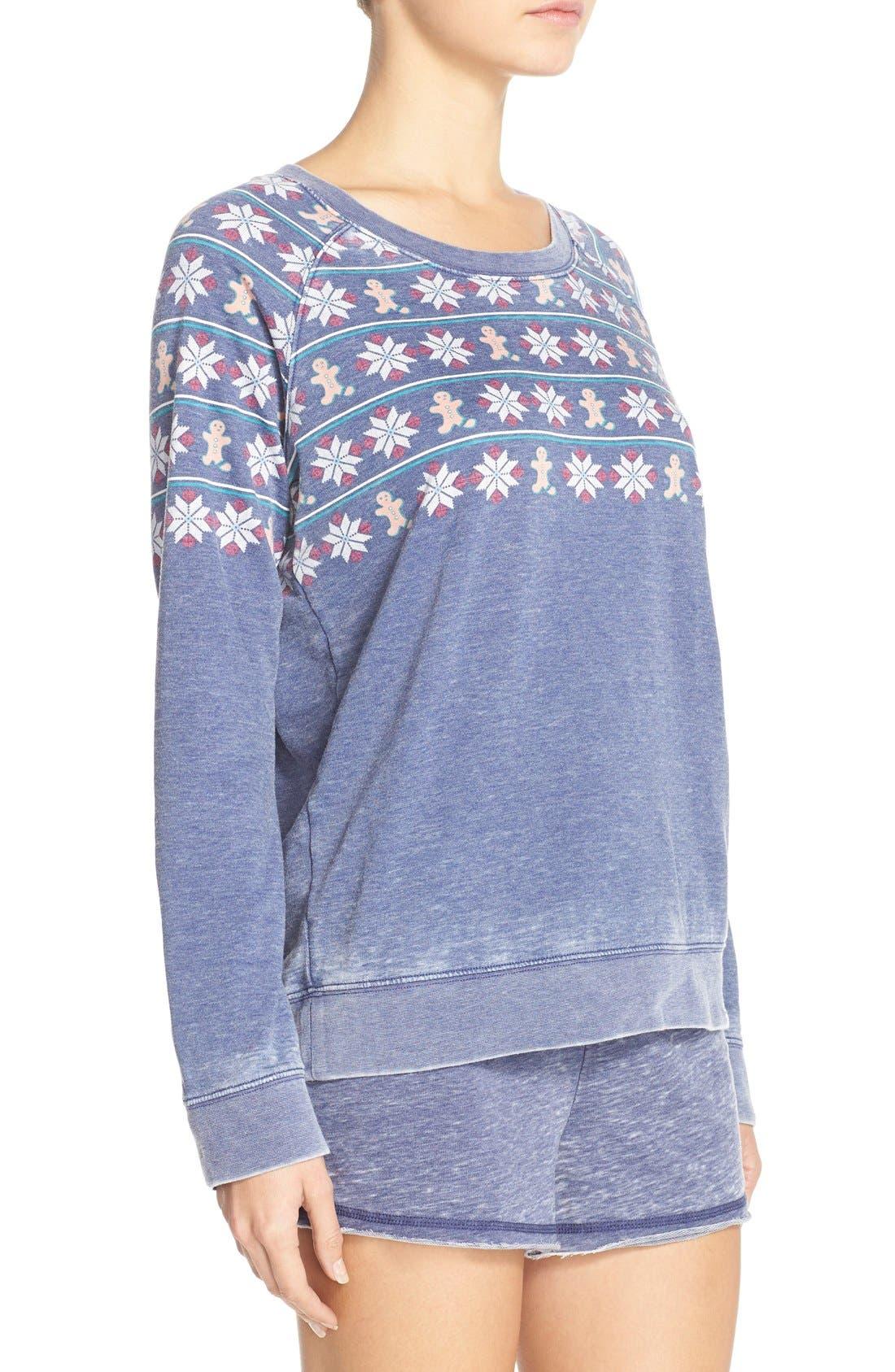 Burnout Lounge Sweatshirt,                             Alternate thumbnail 281, color,