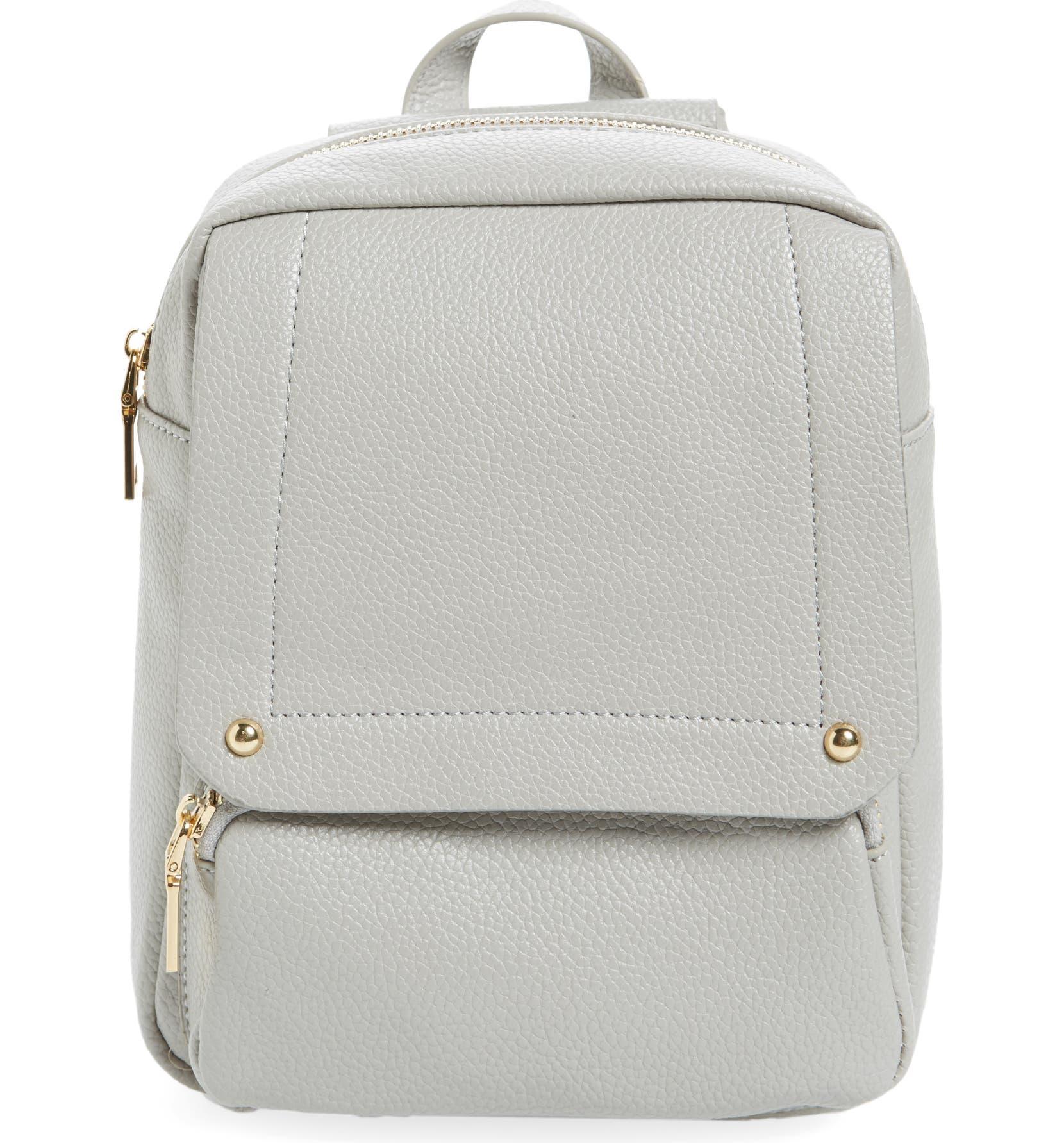 02ab87277305 Girly Faux Leather Flap Mini Backpack- Fenix Toulouse Handball