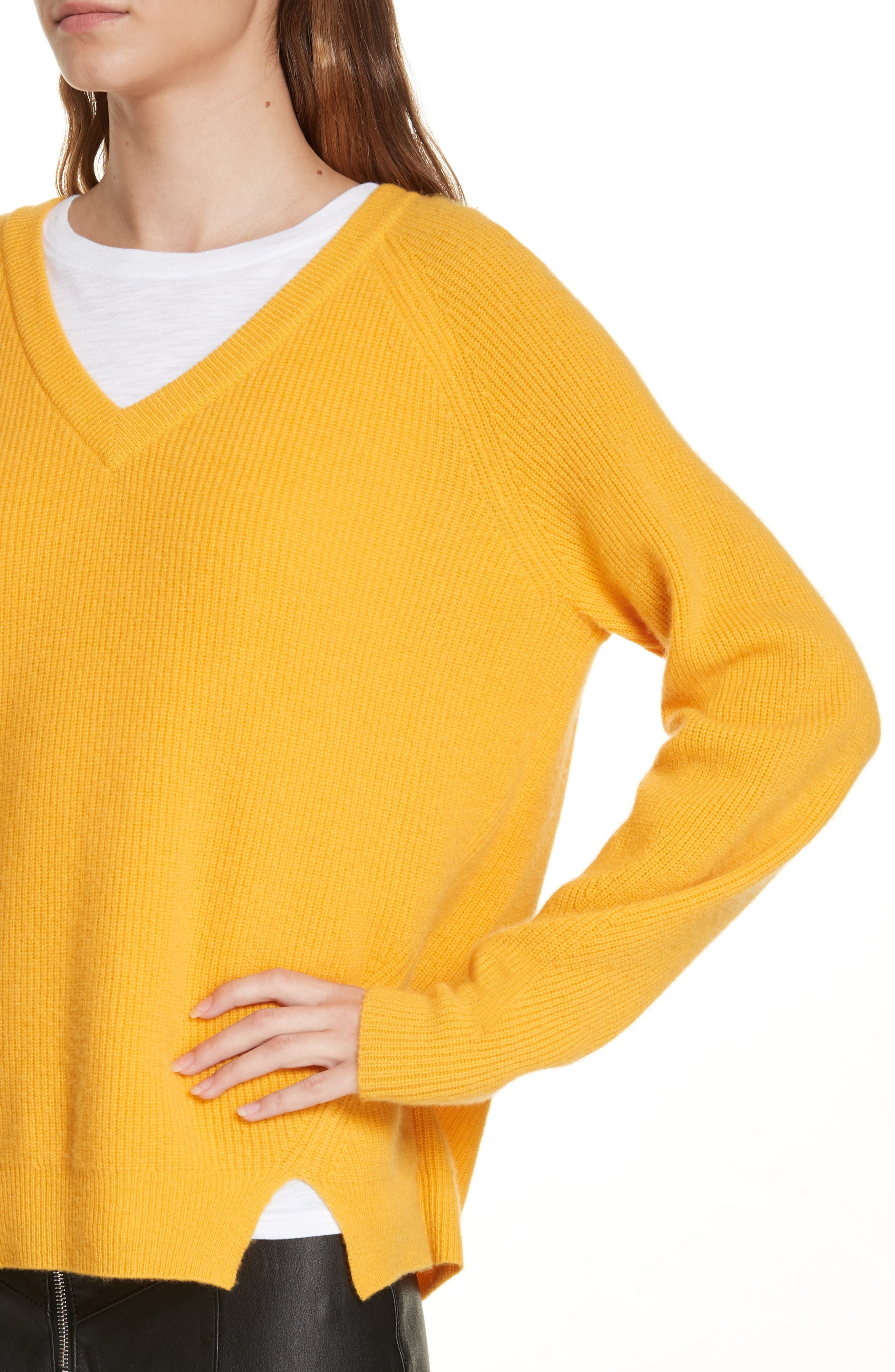 Neely Cashmere Sweater,                             Alternate thumbnail 4, color,                             724