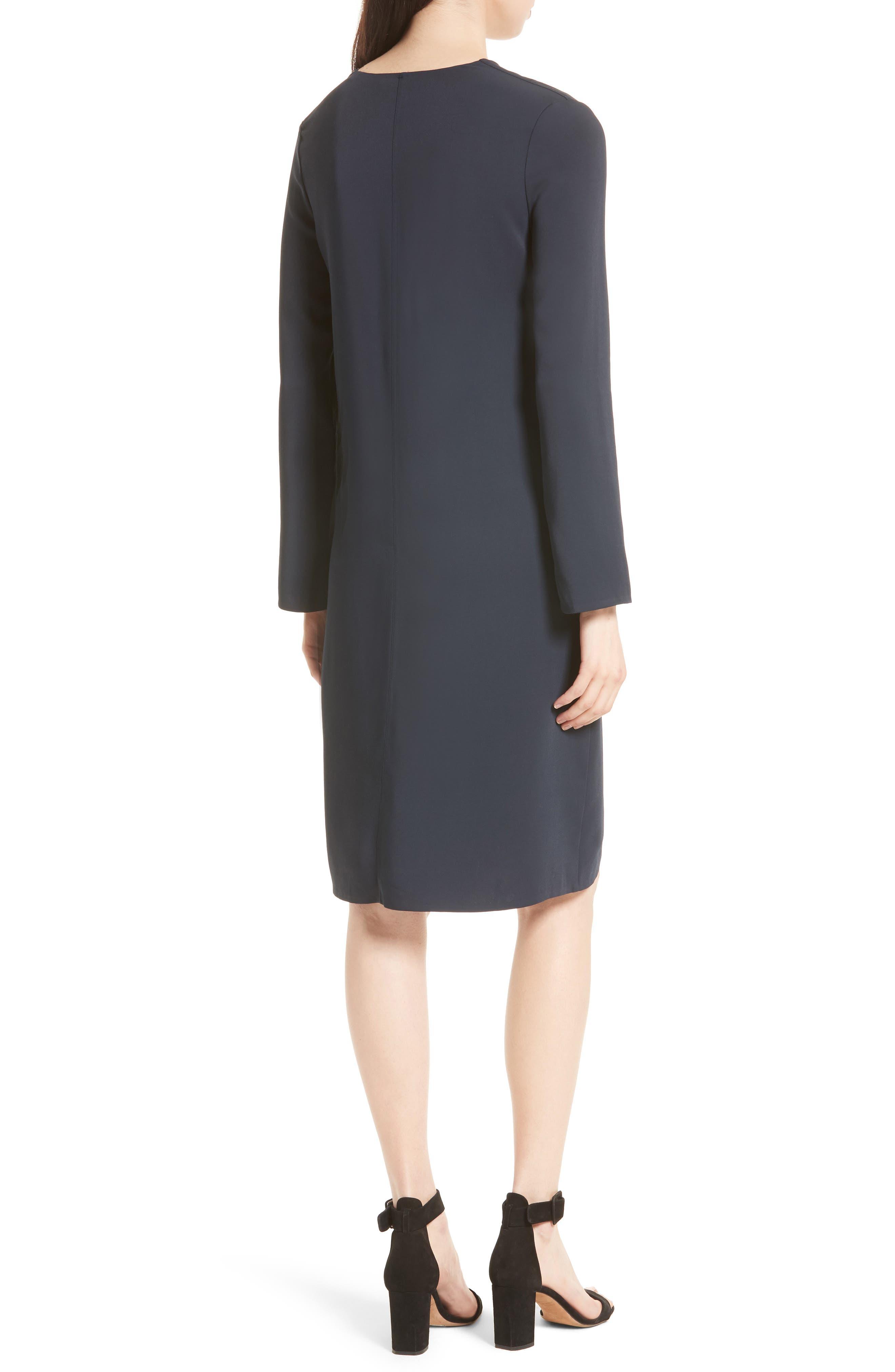 V-Neck Tunic Dress,                             Alternate thumbnail 2, color,                             403