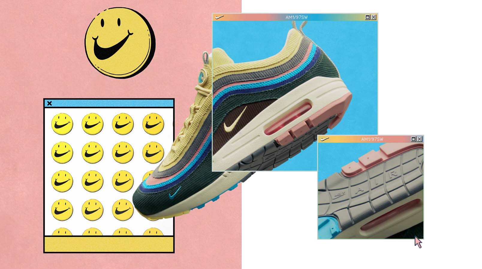 Nike Air Max 1/97 SW by Sean Wotherspoon.