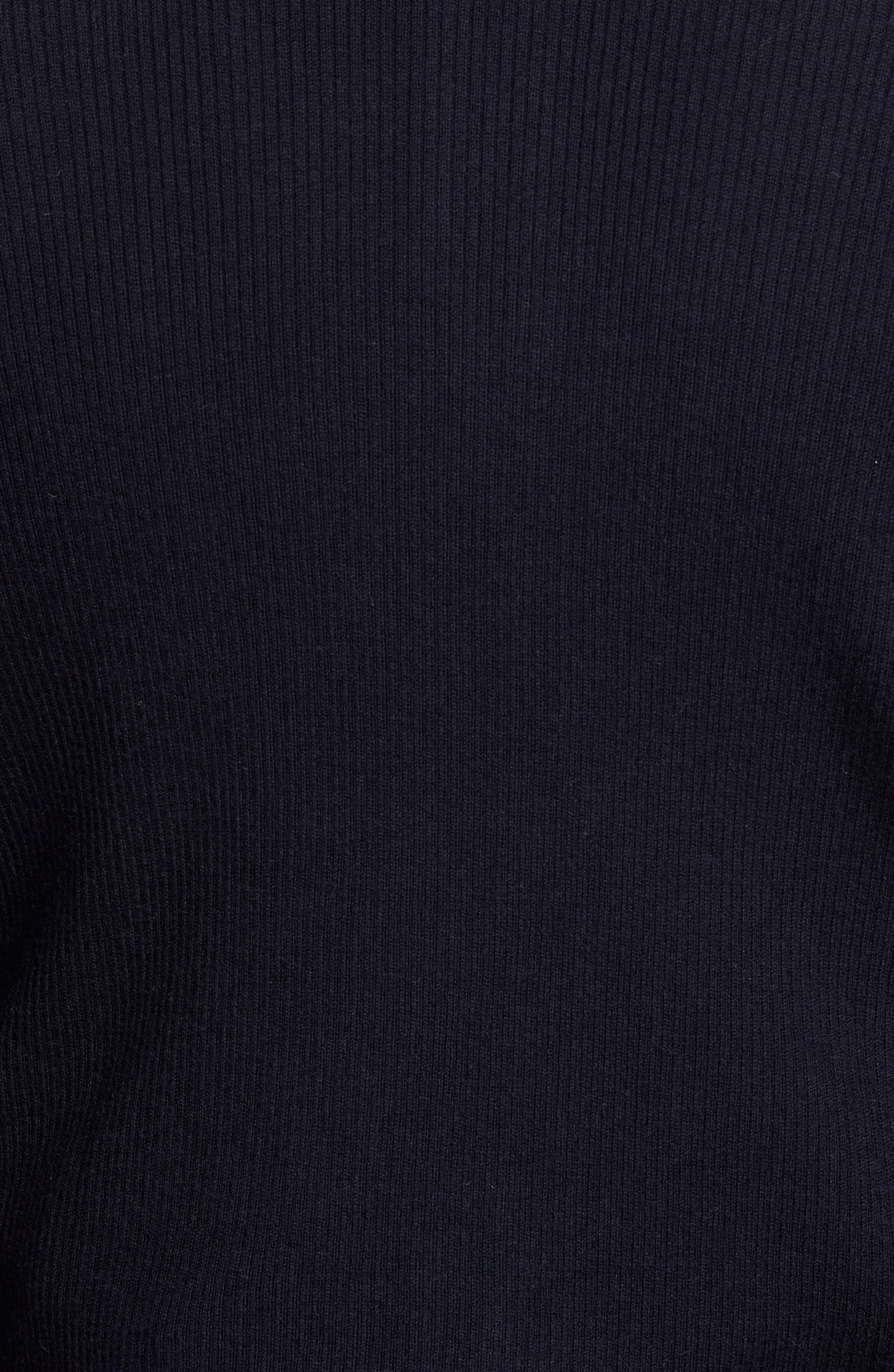 Crown Quilt Front Merino Wool Blend Cardigan,                             Alternate thumbnail 10, color,