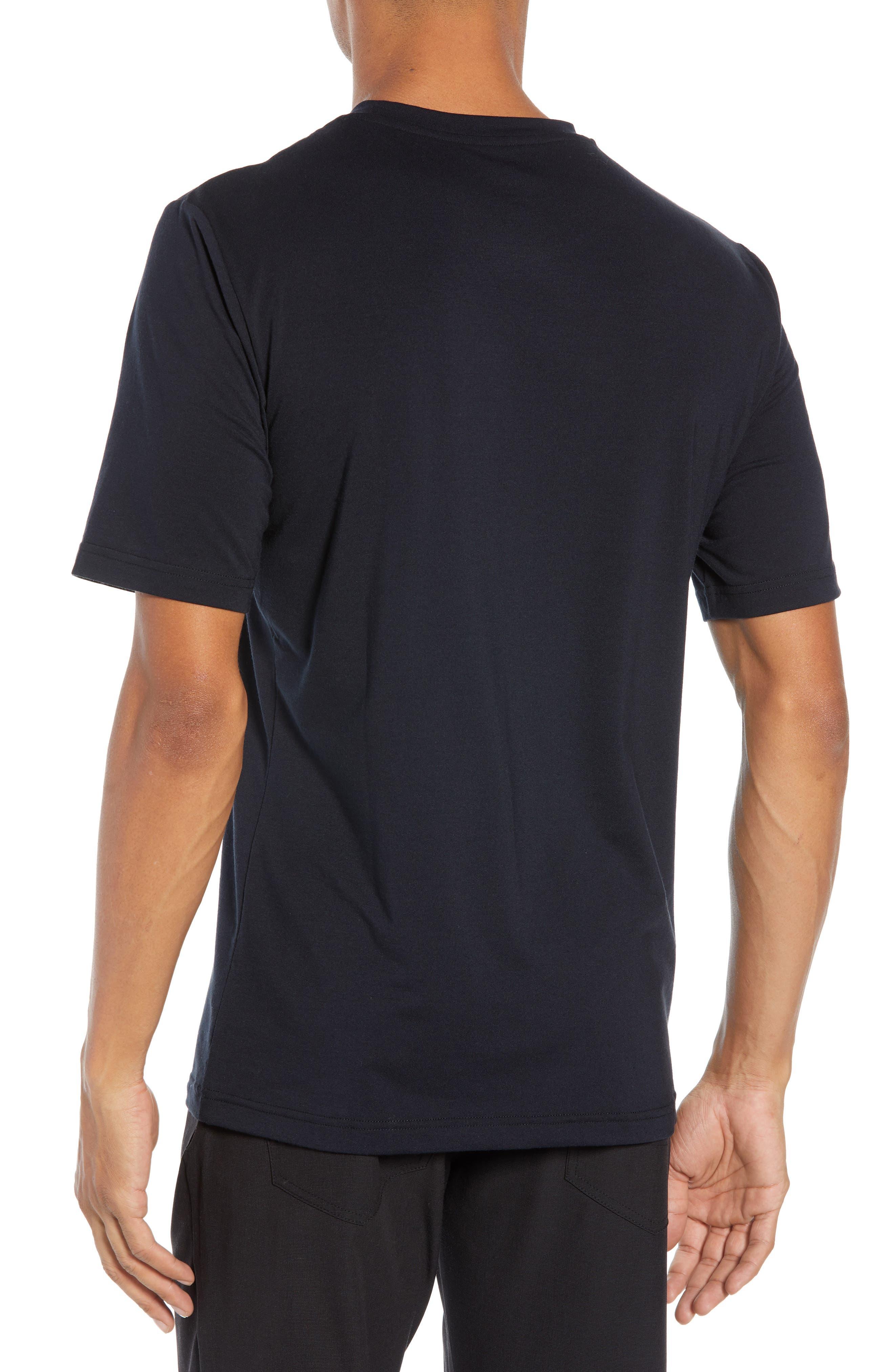 The Bias T-Shirt,                             Alternate thumbnail 2, color,                             BLACK