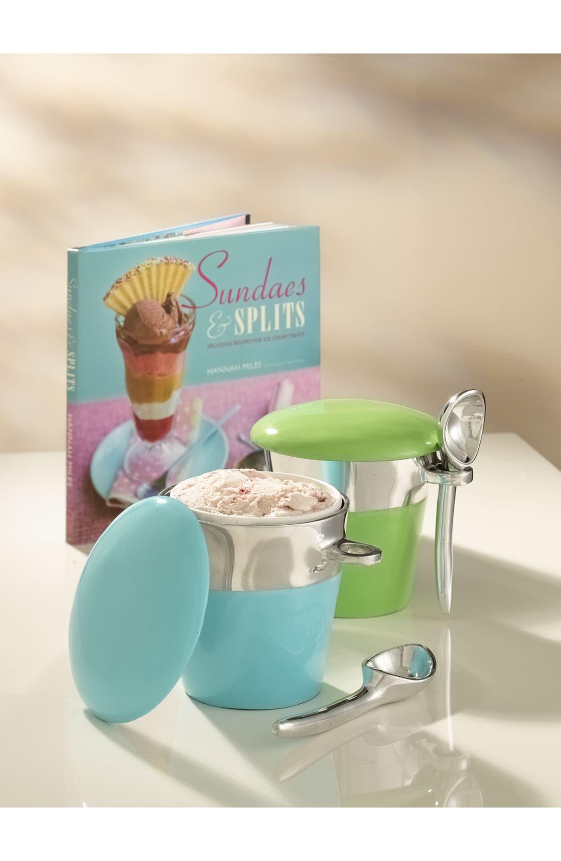 Porcelain Ice Cream Pint Holder,                             Alternate thumbnail 2, color,                             040